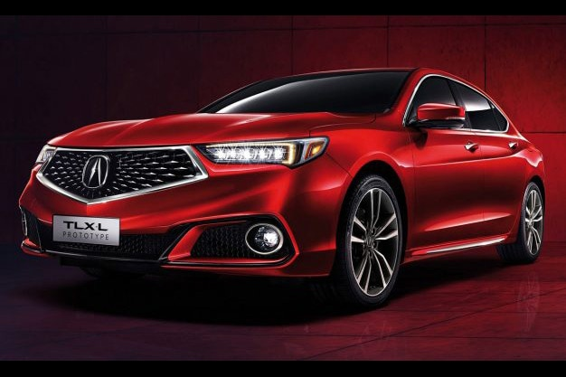 Acura TLX L Prototype Front