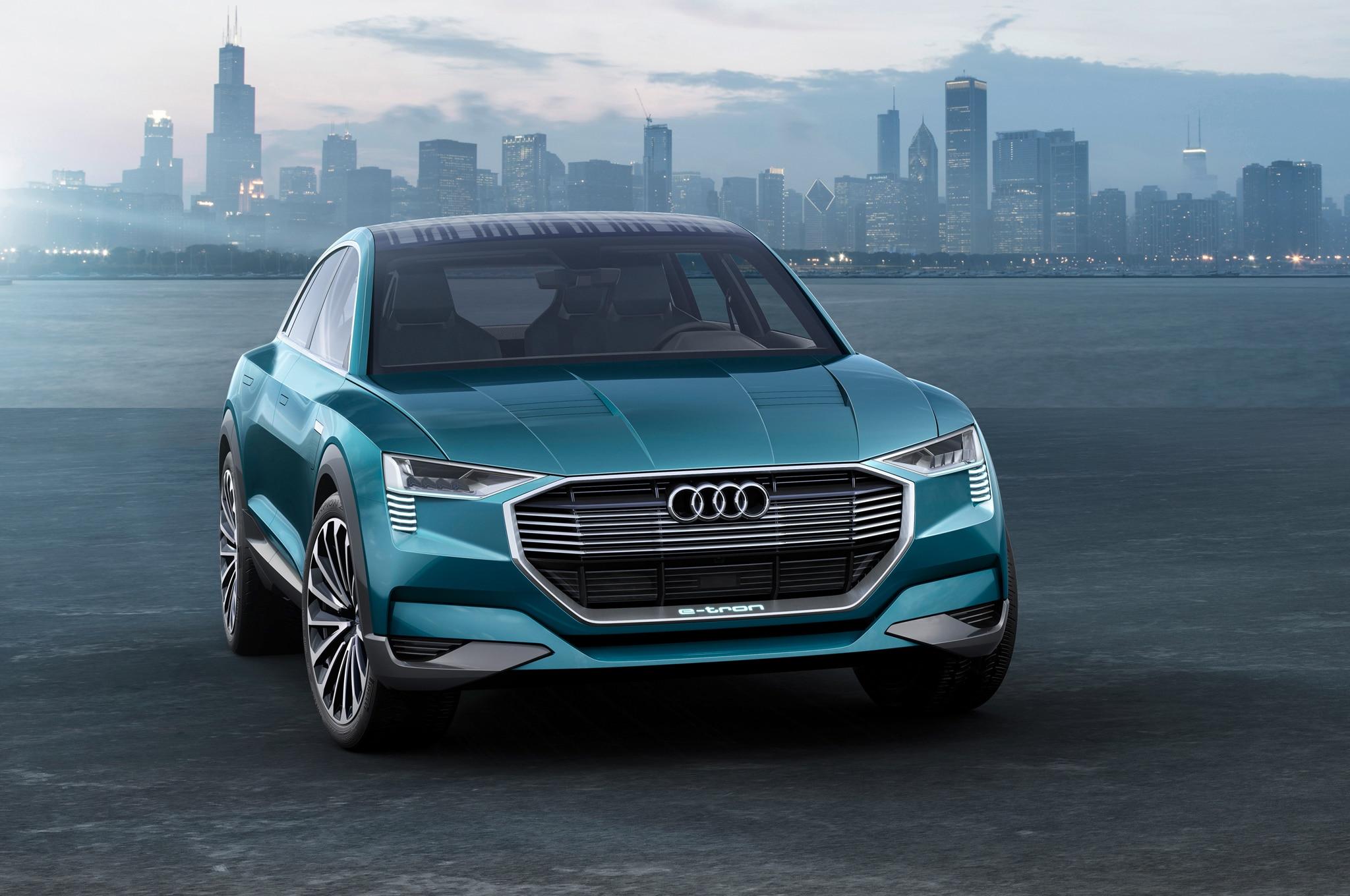 Audi E Tron Quattro Concept Front End