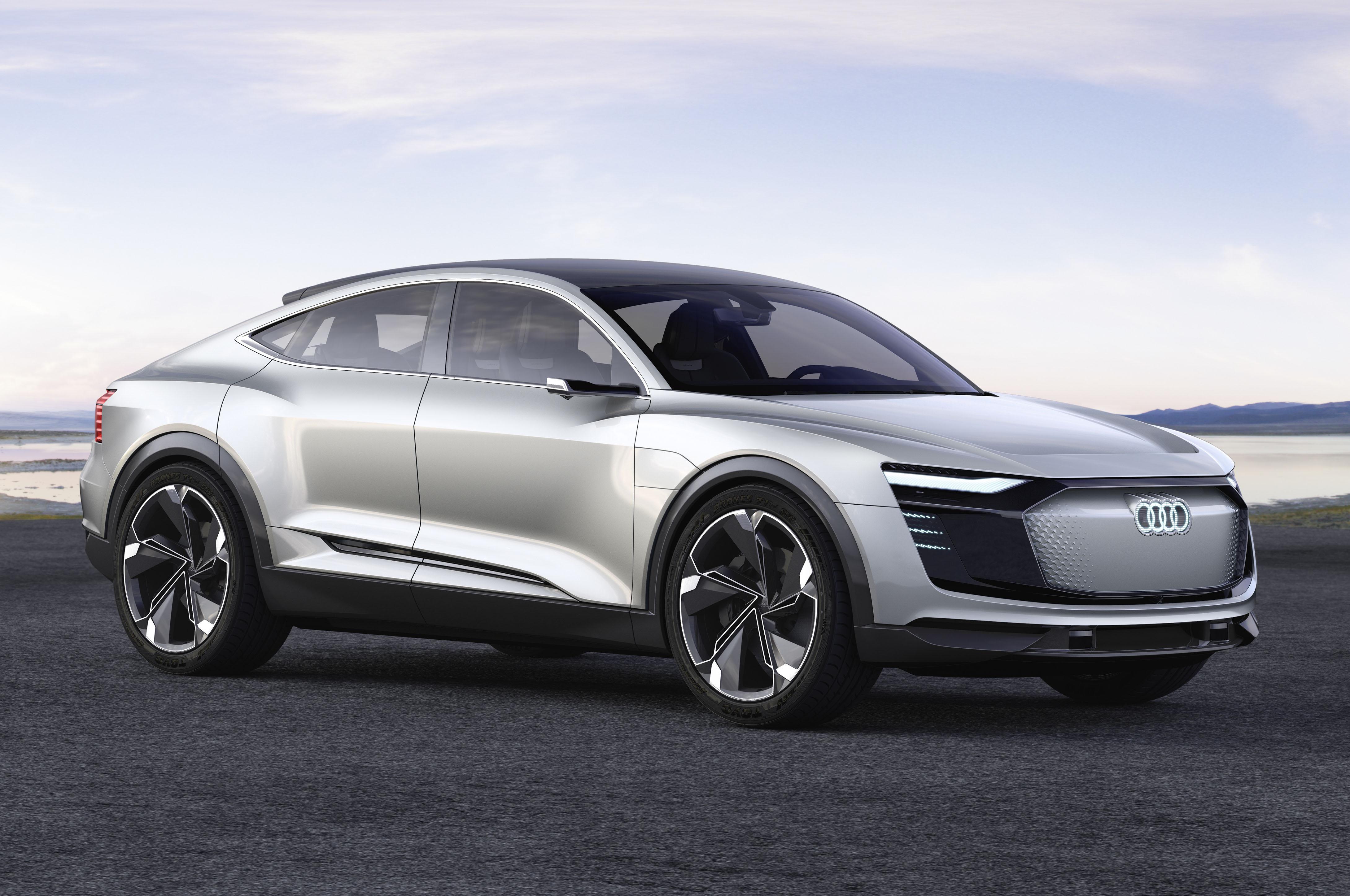 Audi E Tron Sportback Concept Front Three Quarters