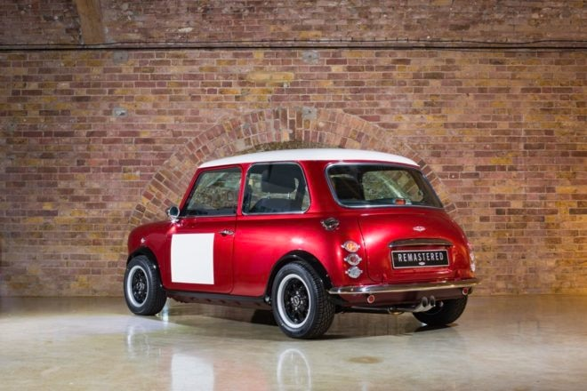 David Brown Automotive Mini Remastered Red