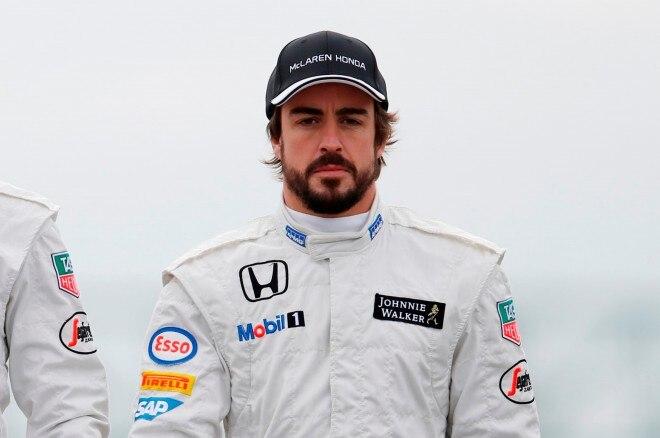 Fernando Alonso headshot