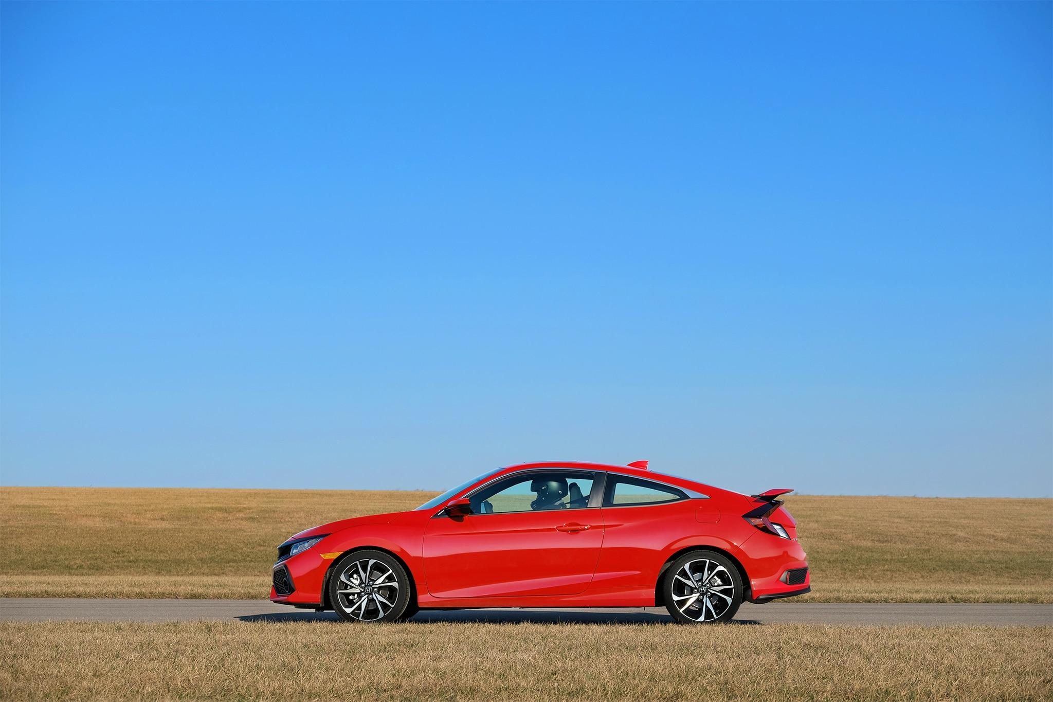 2017 honda civic si coupe quick take review automobile for Honda civic si 0 60