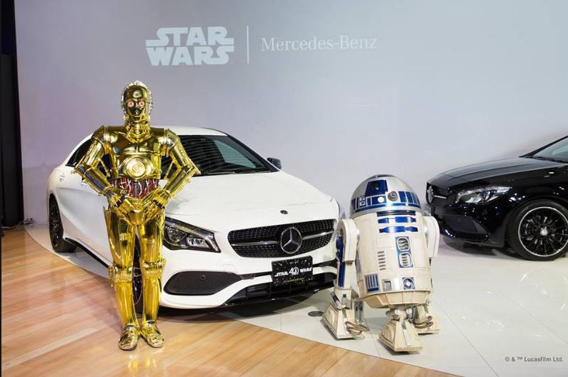 Mercedes benz debuts cla star wars edition for japan for 2017 mercedes benz cla class msrp