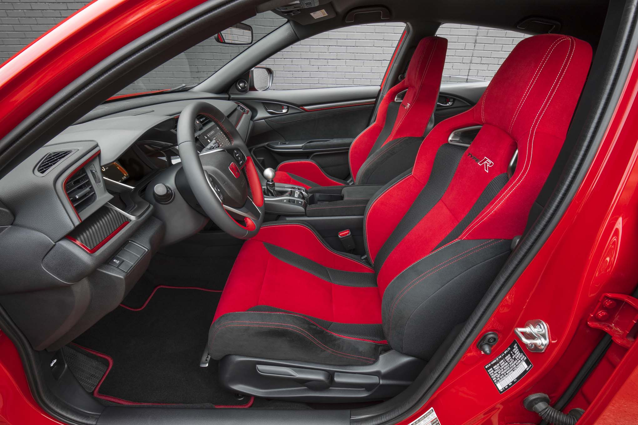 Honda eyeing more powerful civic type r automobile magazine - 2017 honda civic type r interior ...