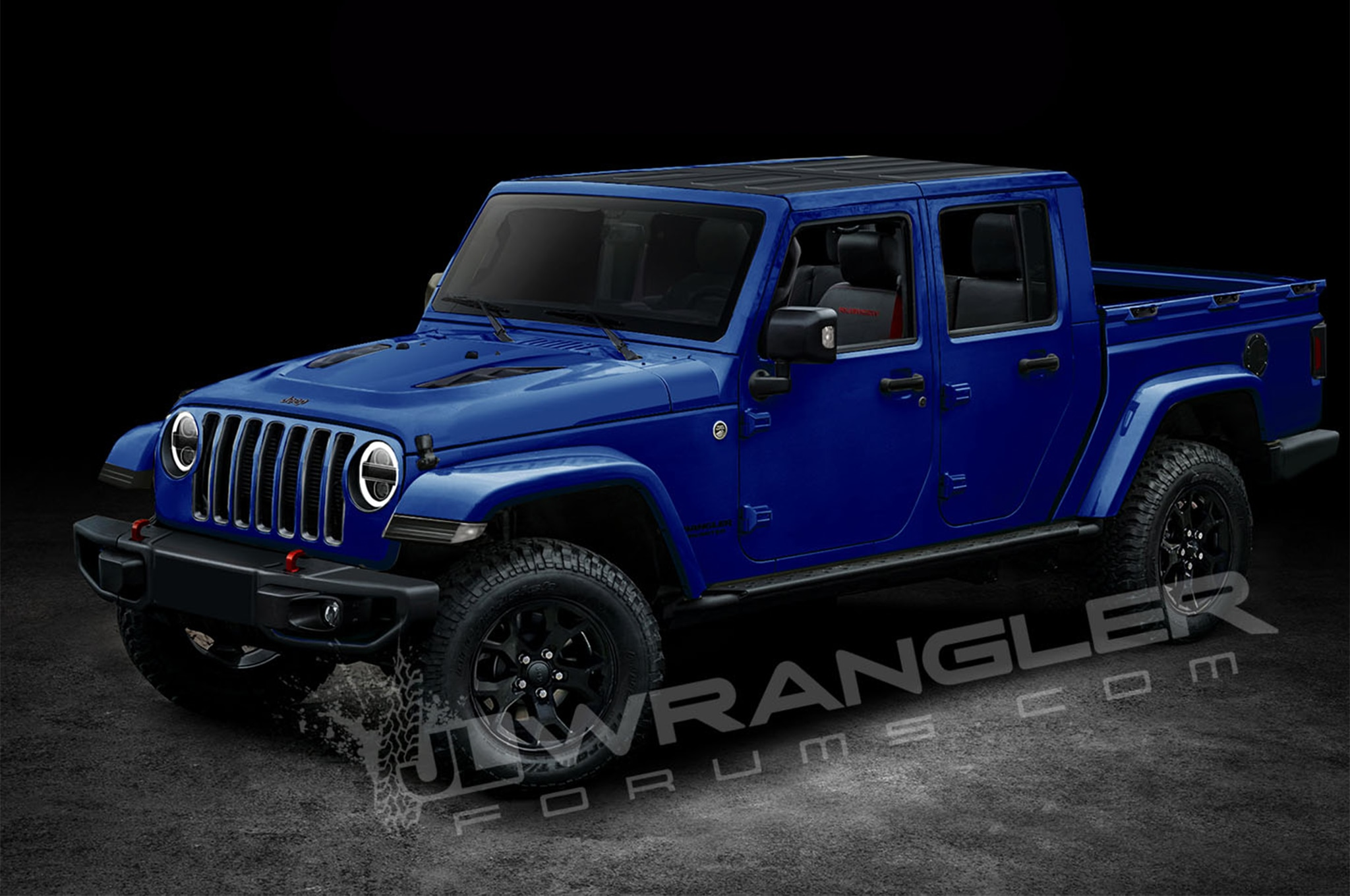 is this the next generation jeep wrangler pickup automobile magazine. Black Bedroom Furniture Sets. Home Design Ideas
