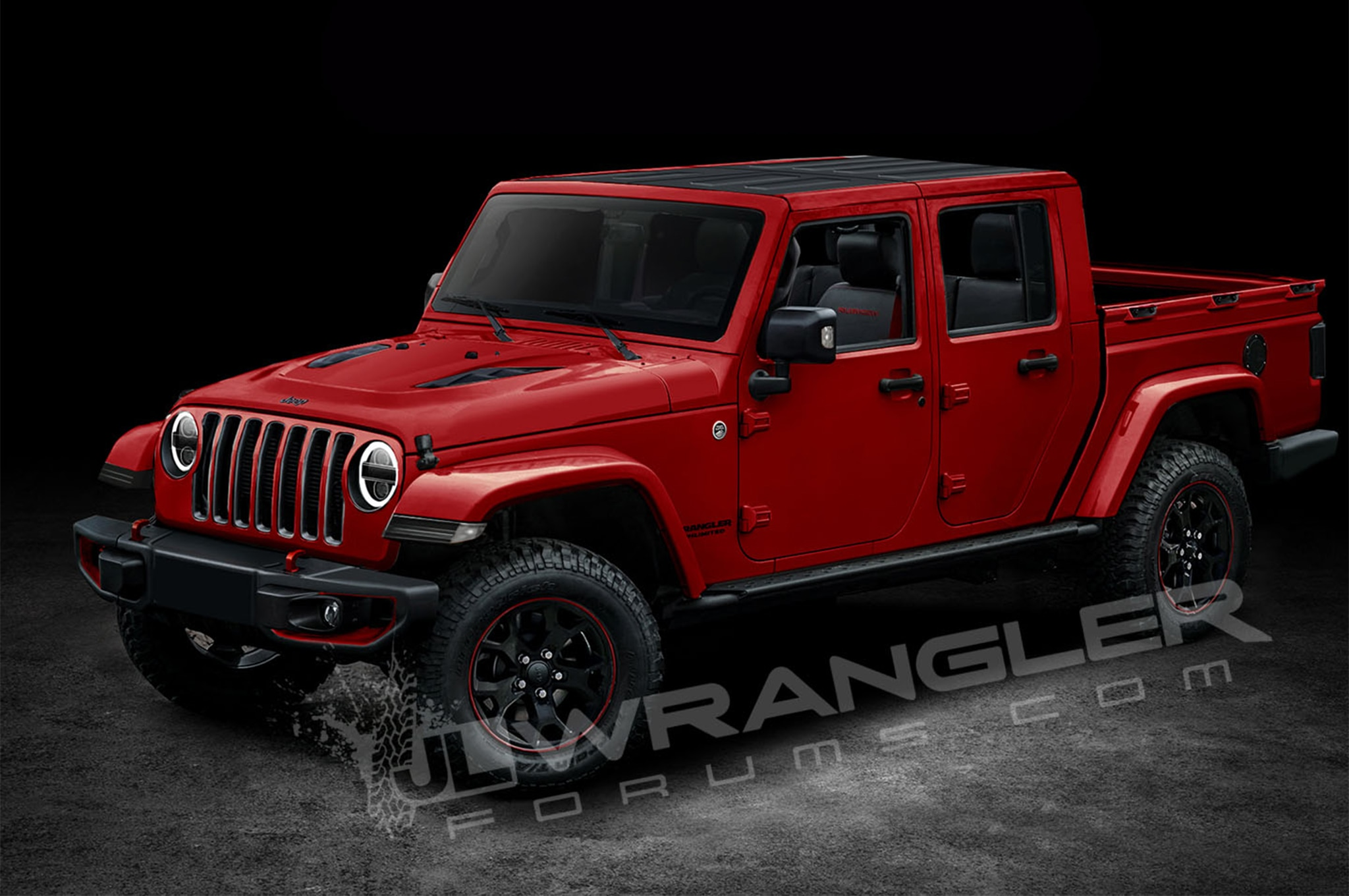 is this the next generation jeep wrangler pickup. Black Bedroom Furniture Sets. Home Design Ideas