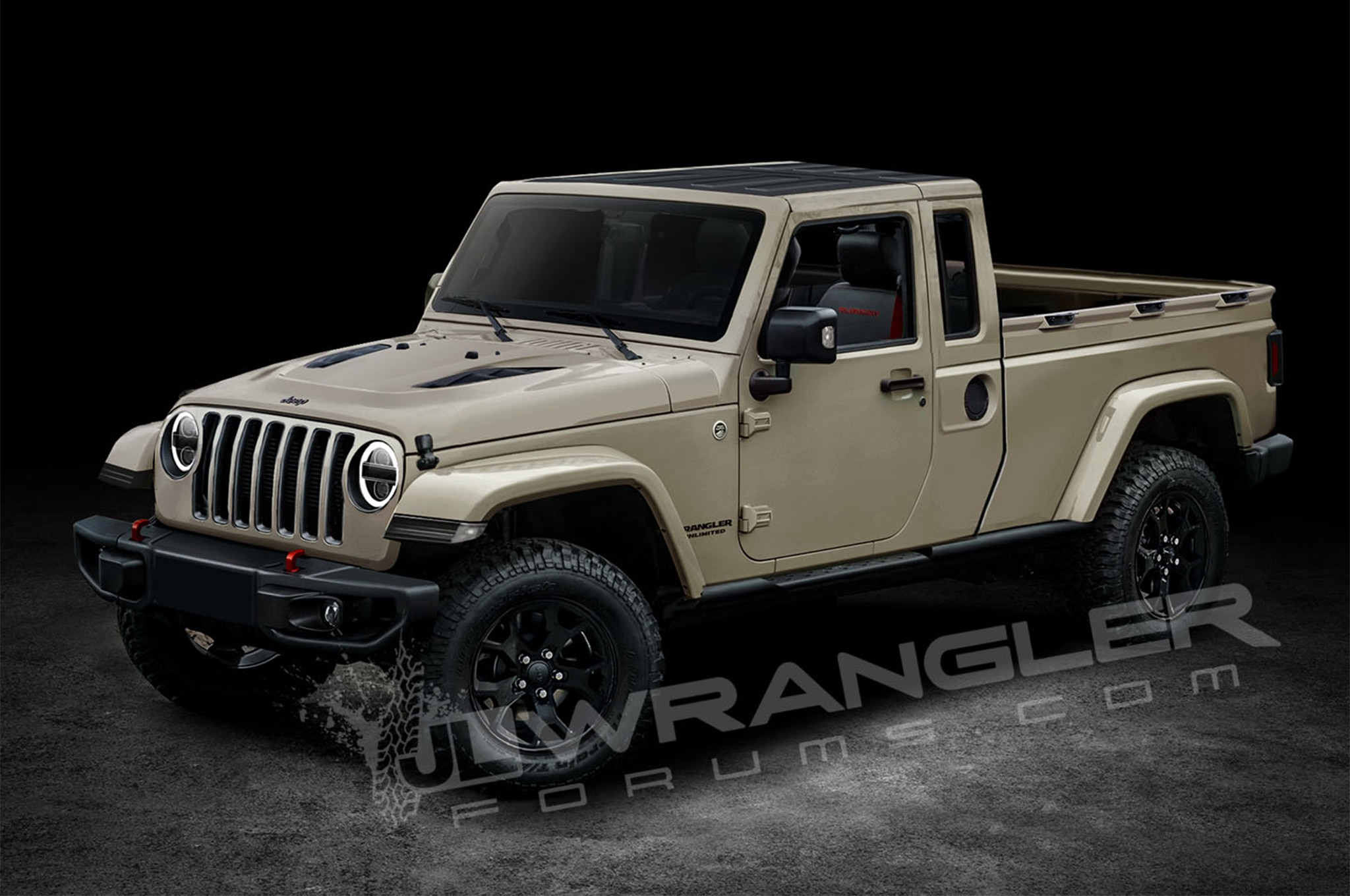 Jeep Wrangler Pickup Truck 2017 >> Is This the Next-Generation Jeep Wrangler Pickup? | Automobile Magazine