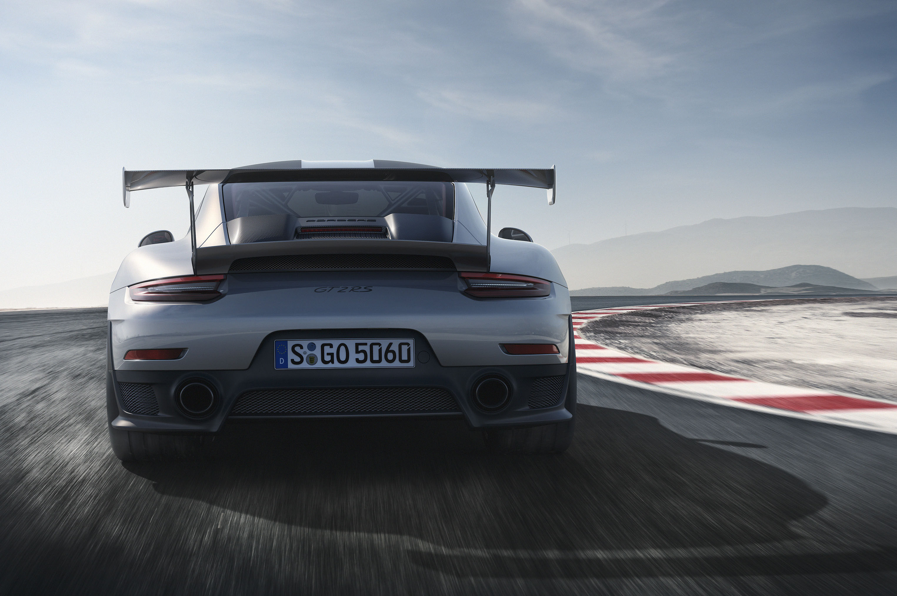 2018-Porsche-911-GT2-RS-rear-view-look Interesting Porsche 911 Gt2 and Gt3 Cars Trend