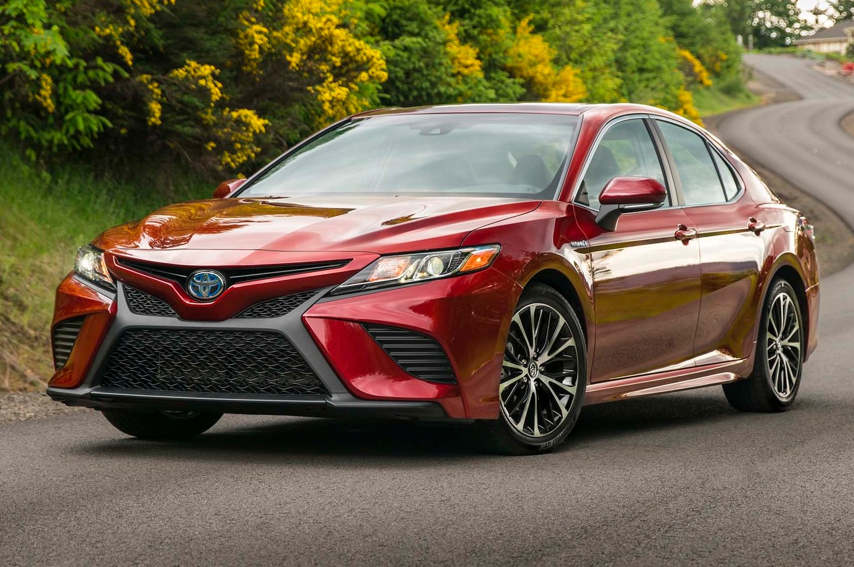 2018 toyota camry enters production in kentucky automobile magazine. Black Bedroom Furniture Sets. Home Design Ideas