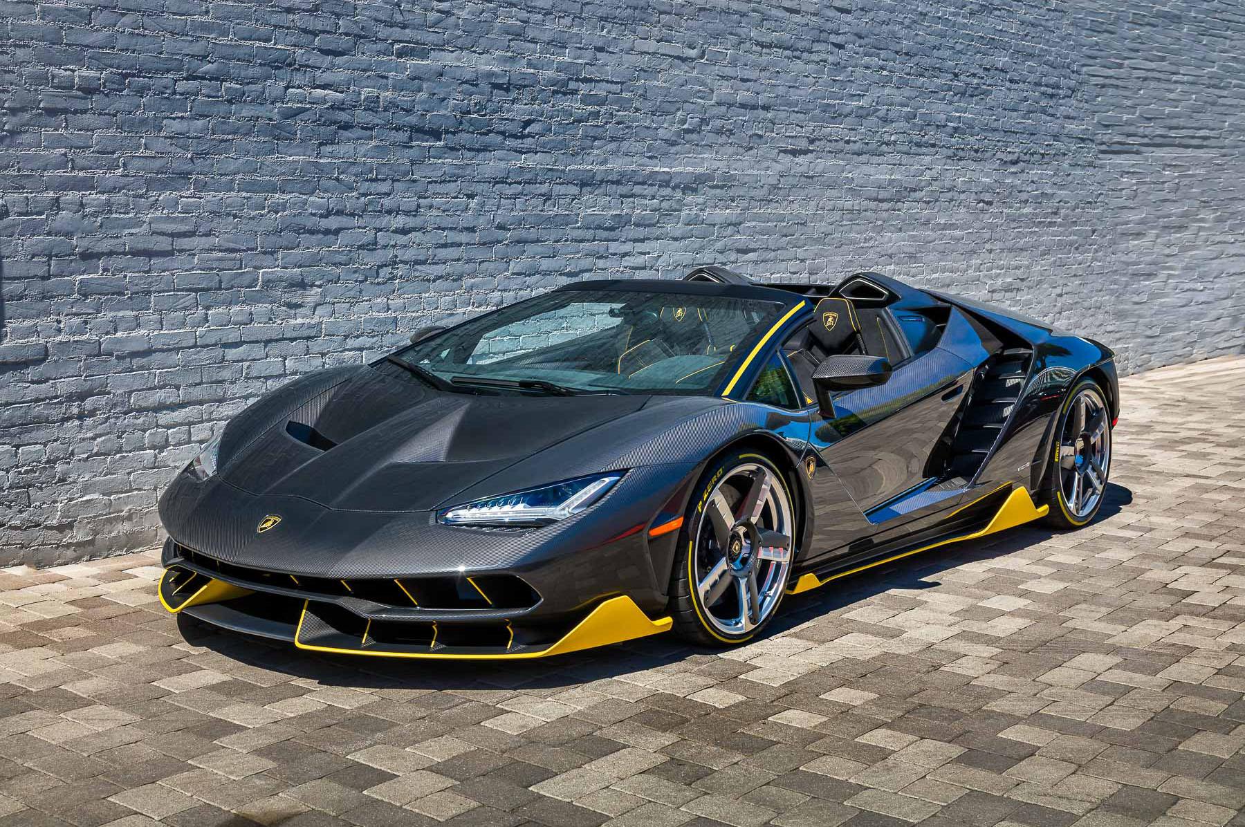 Lamborghini Centenario Roadster First Copy Delivered Beverly Hills