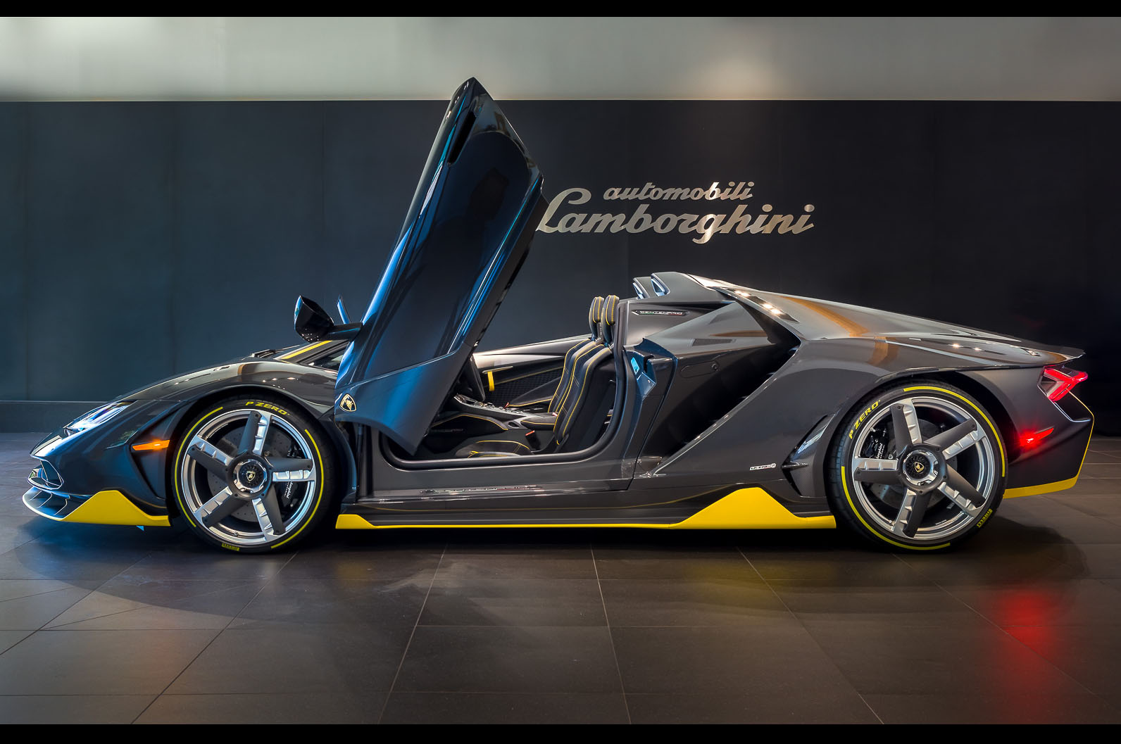 First Lamborghini Centenario Roadster Worldwide Delivered ...