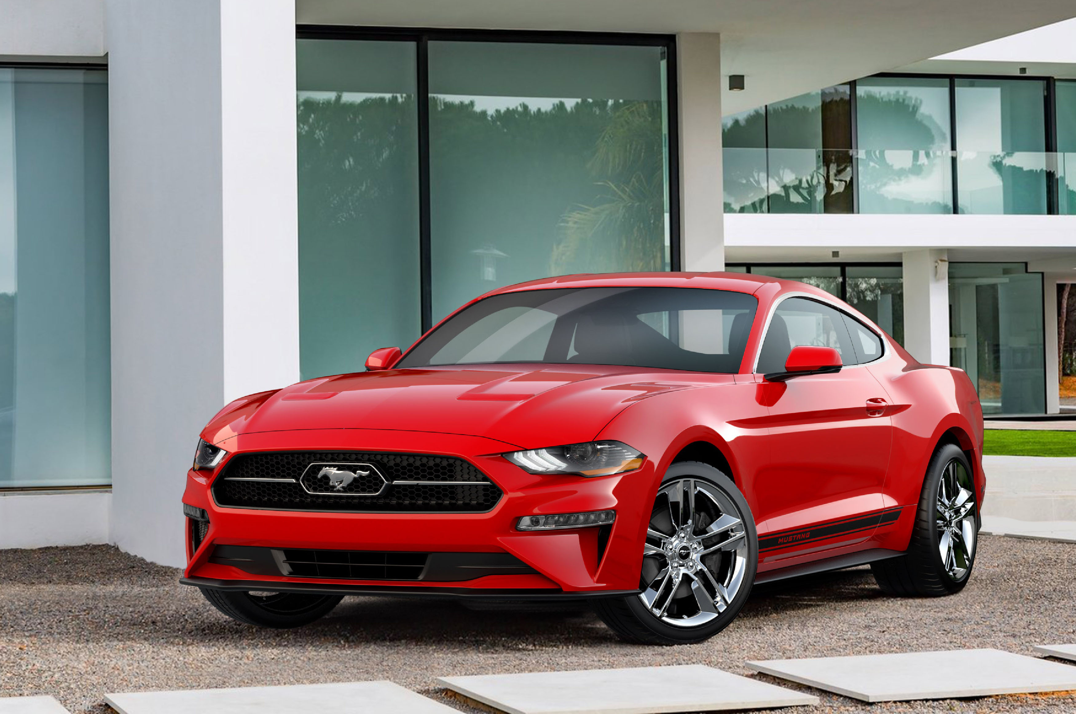 2018 ford mustang offers pony package