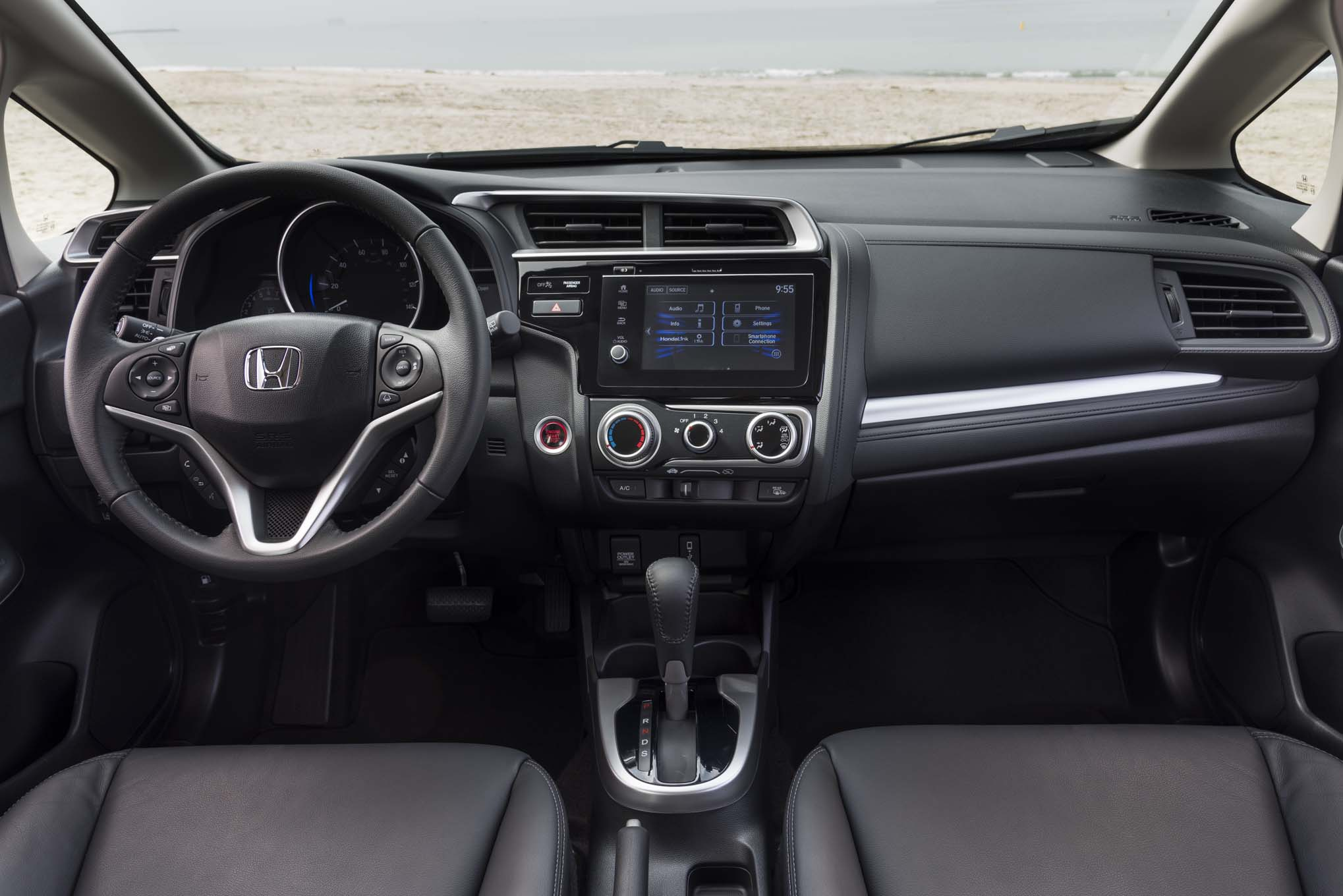 Honda Fit Interior View