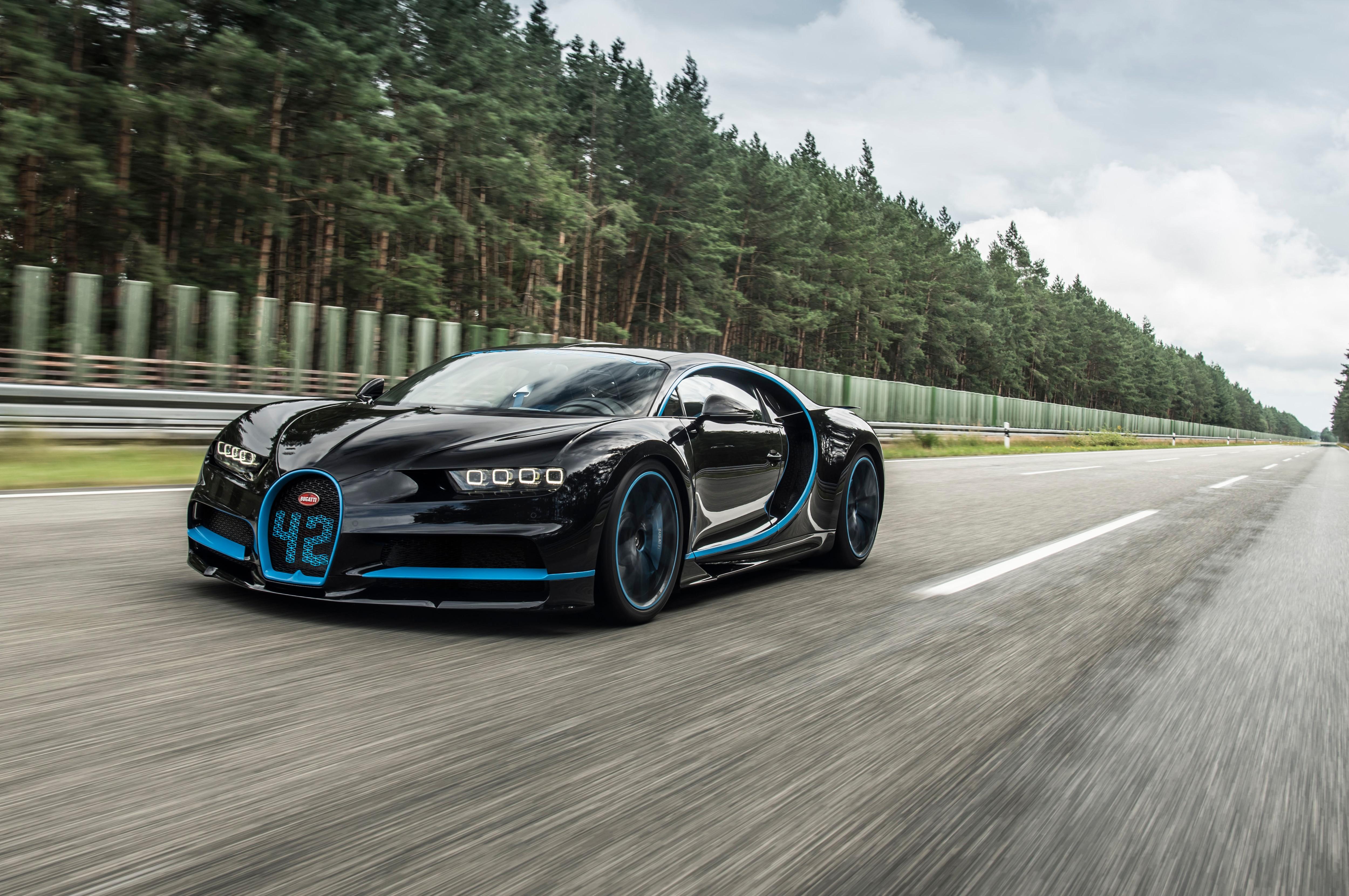 Bugatti Chiron Zero 400 Zero Front Three Quarters