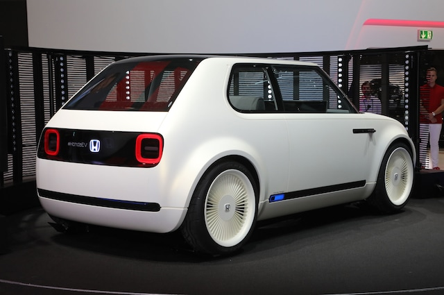 Honda Compact EV Sports Car Concept to Debut at 2017 Tokyo Motor