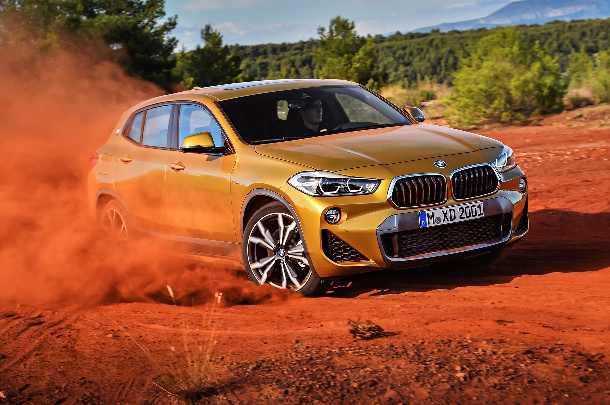 2018 bmw x2 officially revealed automobile magazine. Black Bedroom Furniture Sets. Home Design Ideas