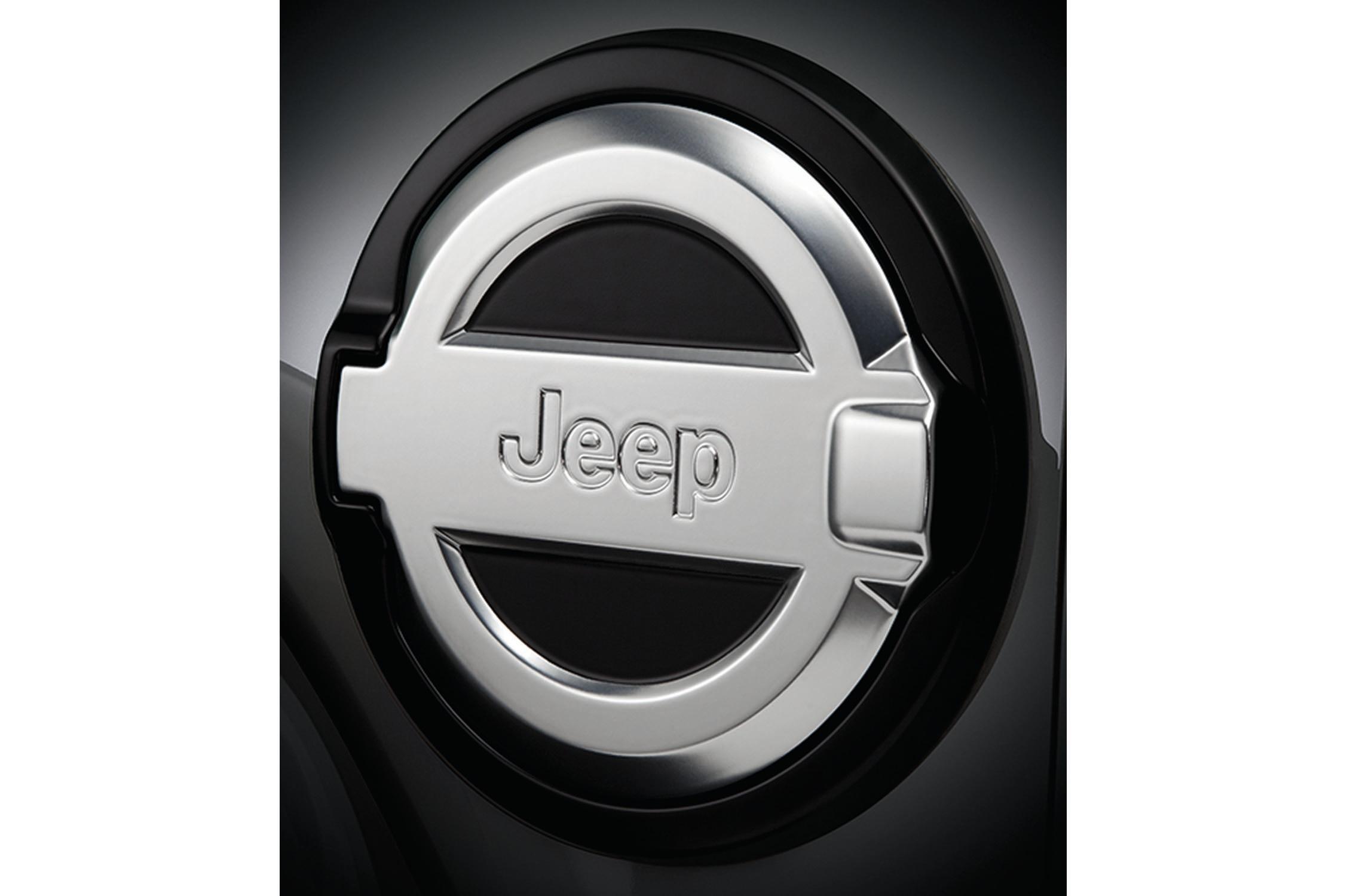 2018 Jeep Wrangler Mopar Fuel Door