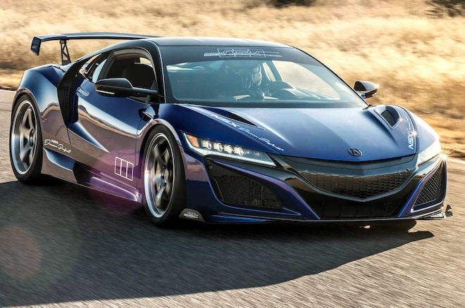 Acura NSX Dream Project Rolling Into SEMA with 610 Horsepower ...