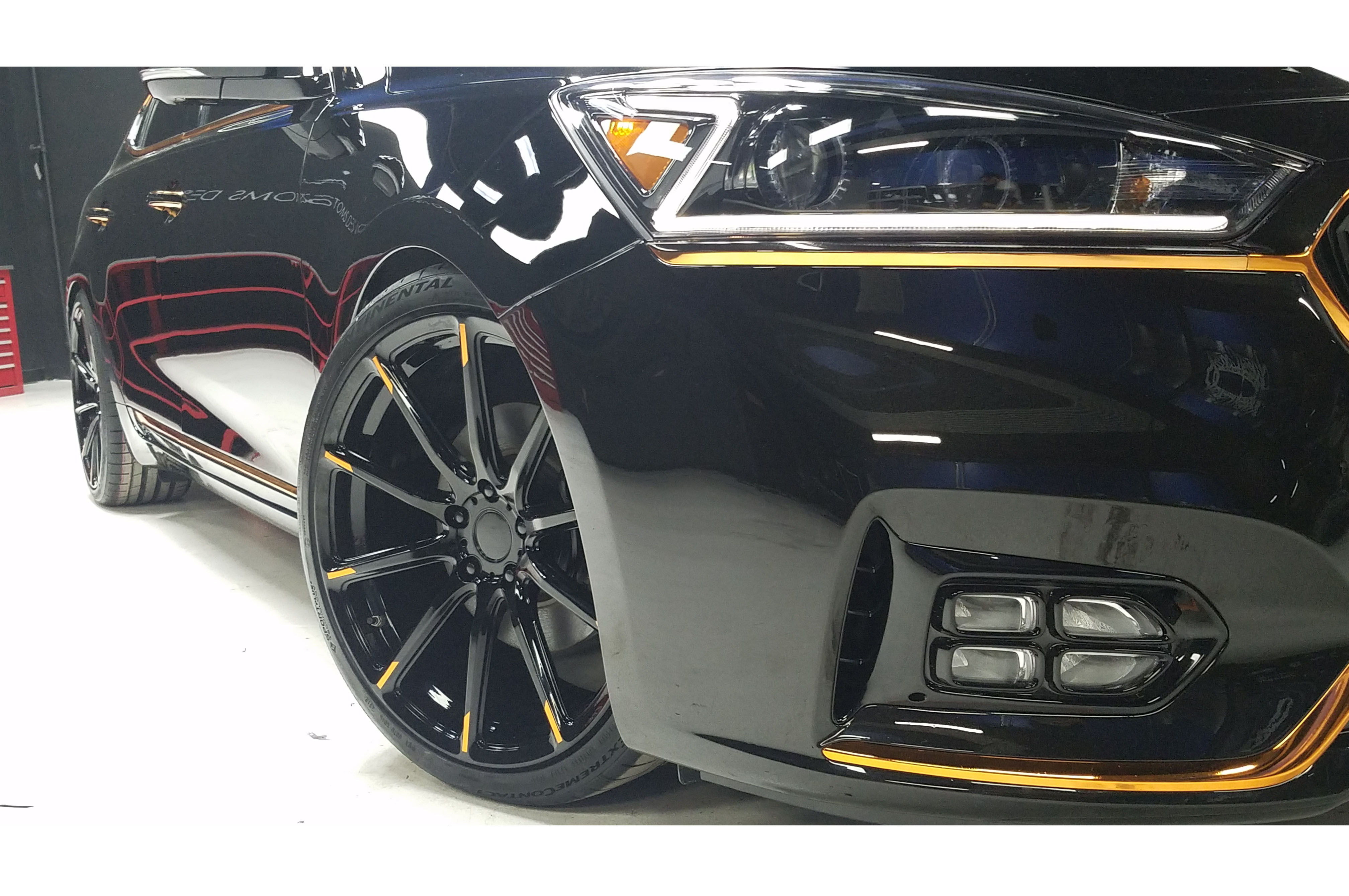 show customized cars two autos sema to brings gt automobile close up modied gets stinger kia cadenza magazine obsidian news gts more