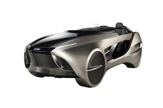 Mitsubishi Emirai 4 Concept Car Front Three Quarters