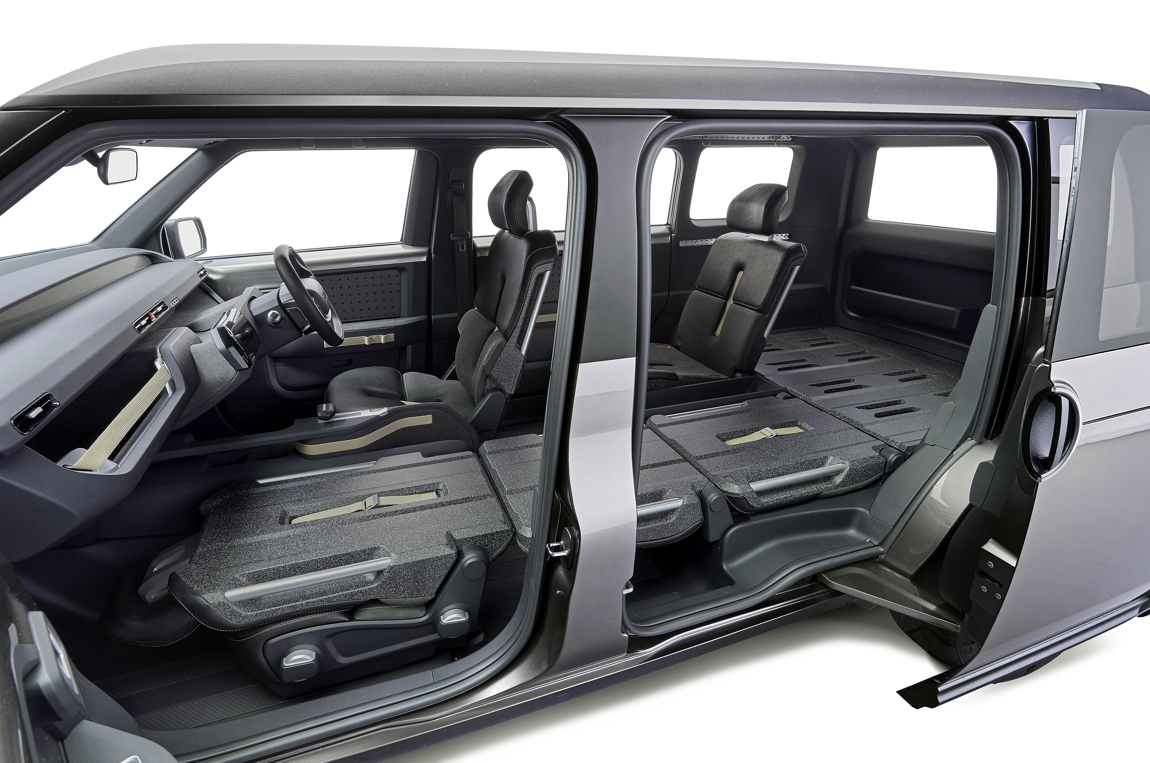 funky toyota tj cruiser is part van part suv automobile magazine. Black Bedroom Furniture Sets. Home Design Ideas