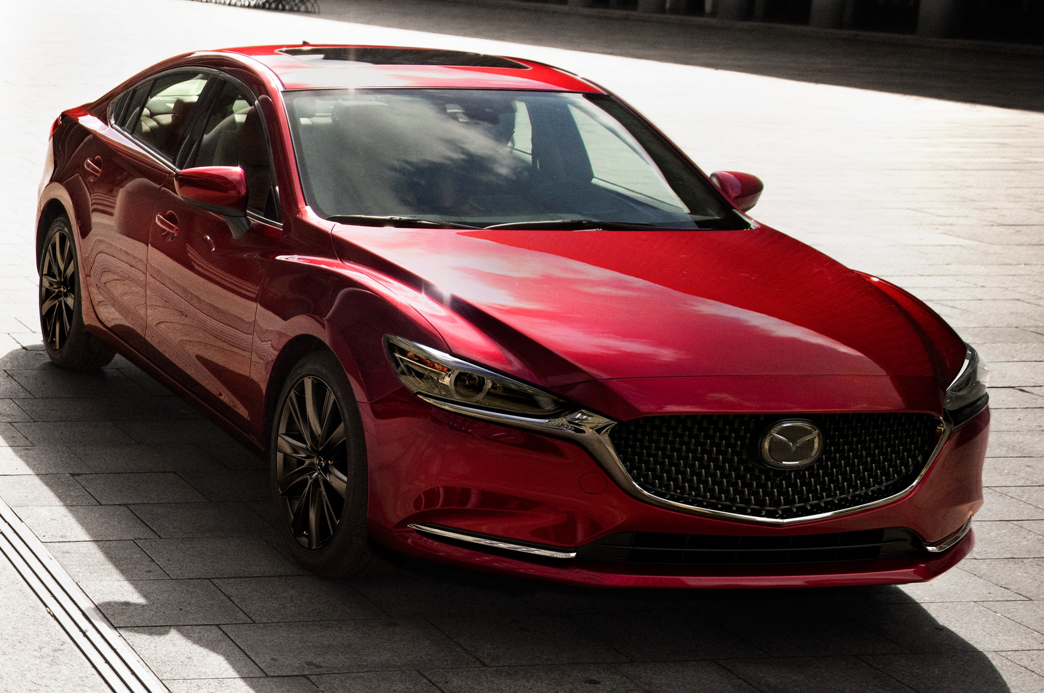 2018 Mazda6 Front Side View Parked