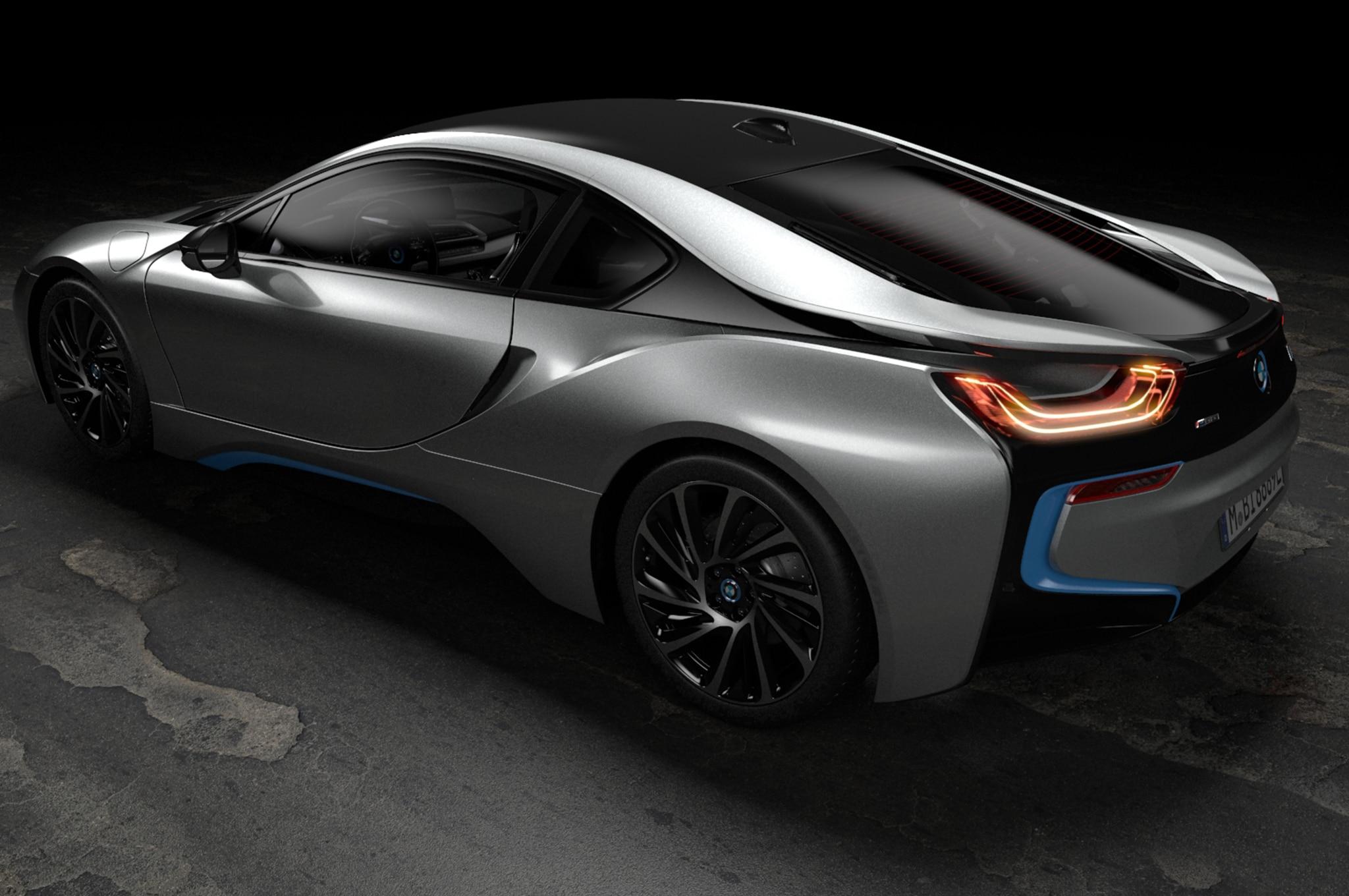 2019 BMW I8 Coupe Rear Three Quarter 01
