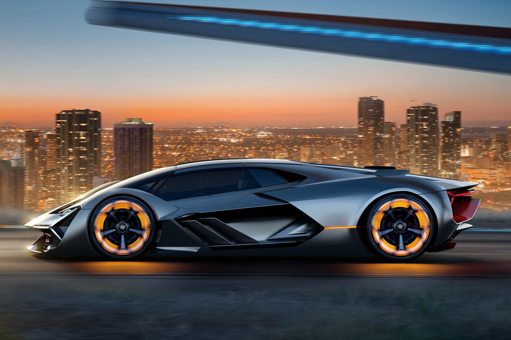 Lamborghini Terzo Millennio Side