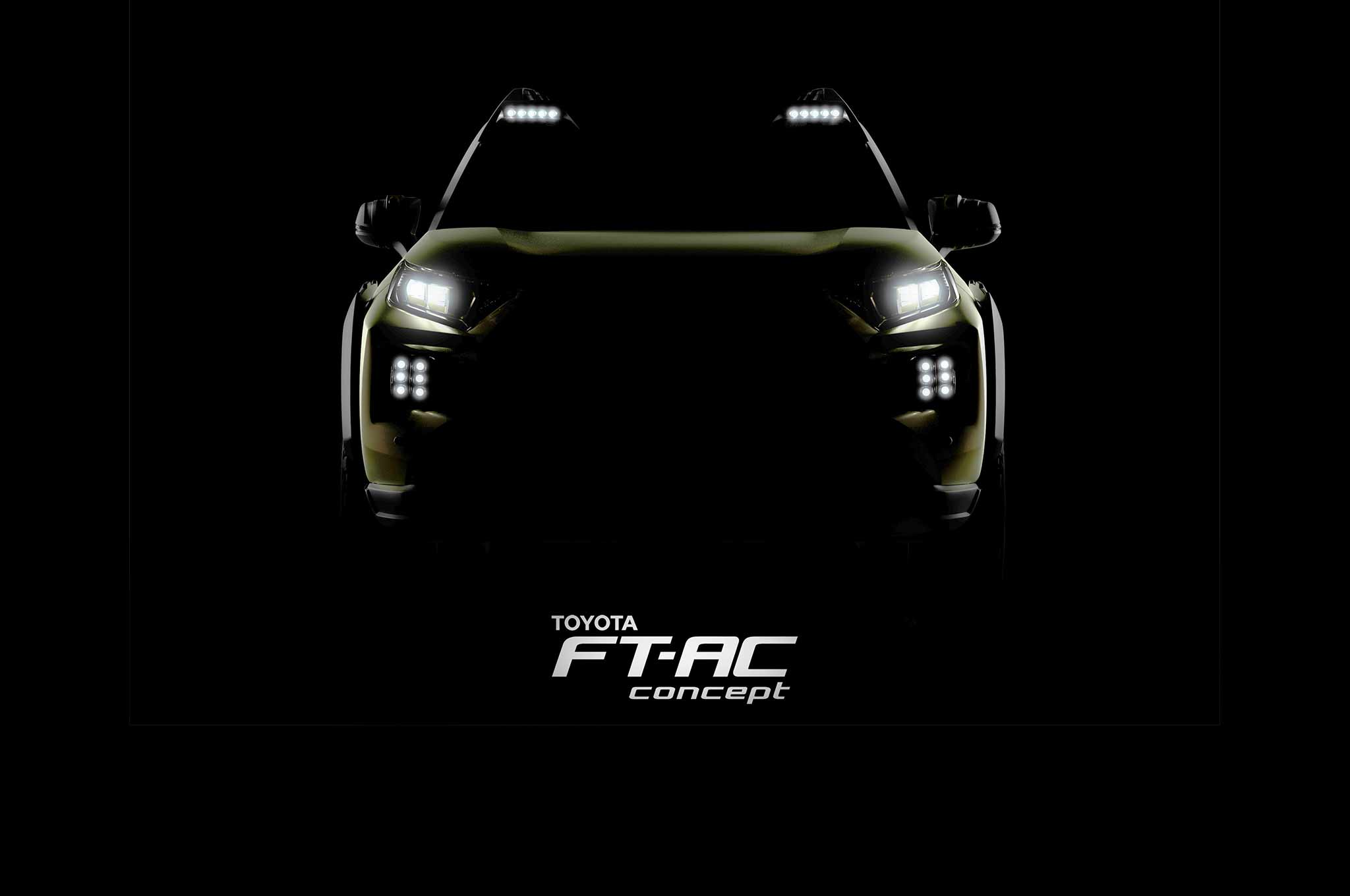 Toyota FT AC Concept Teaser