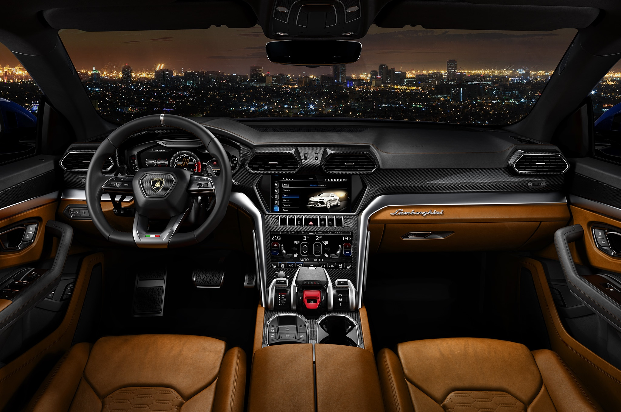 Configure your dream lamborghini urus now automobile for Interior lamborghini