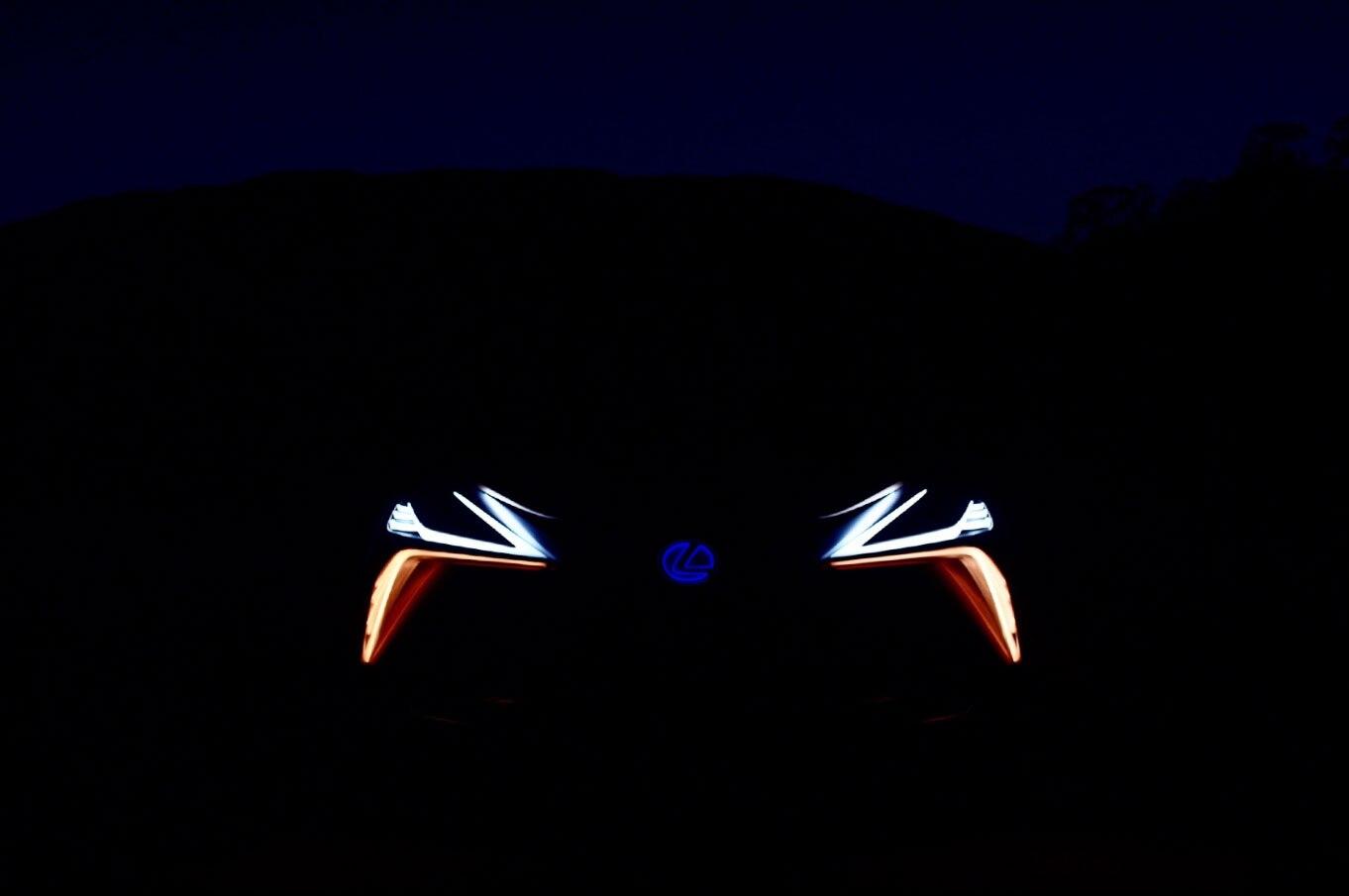 Lexus LF1 Limitless Concept Teaser 2