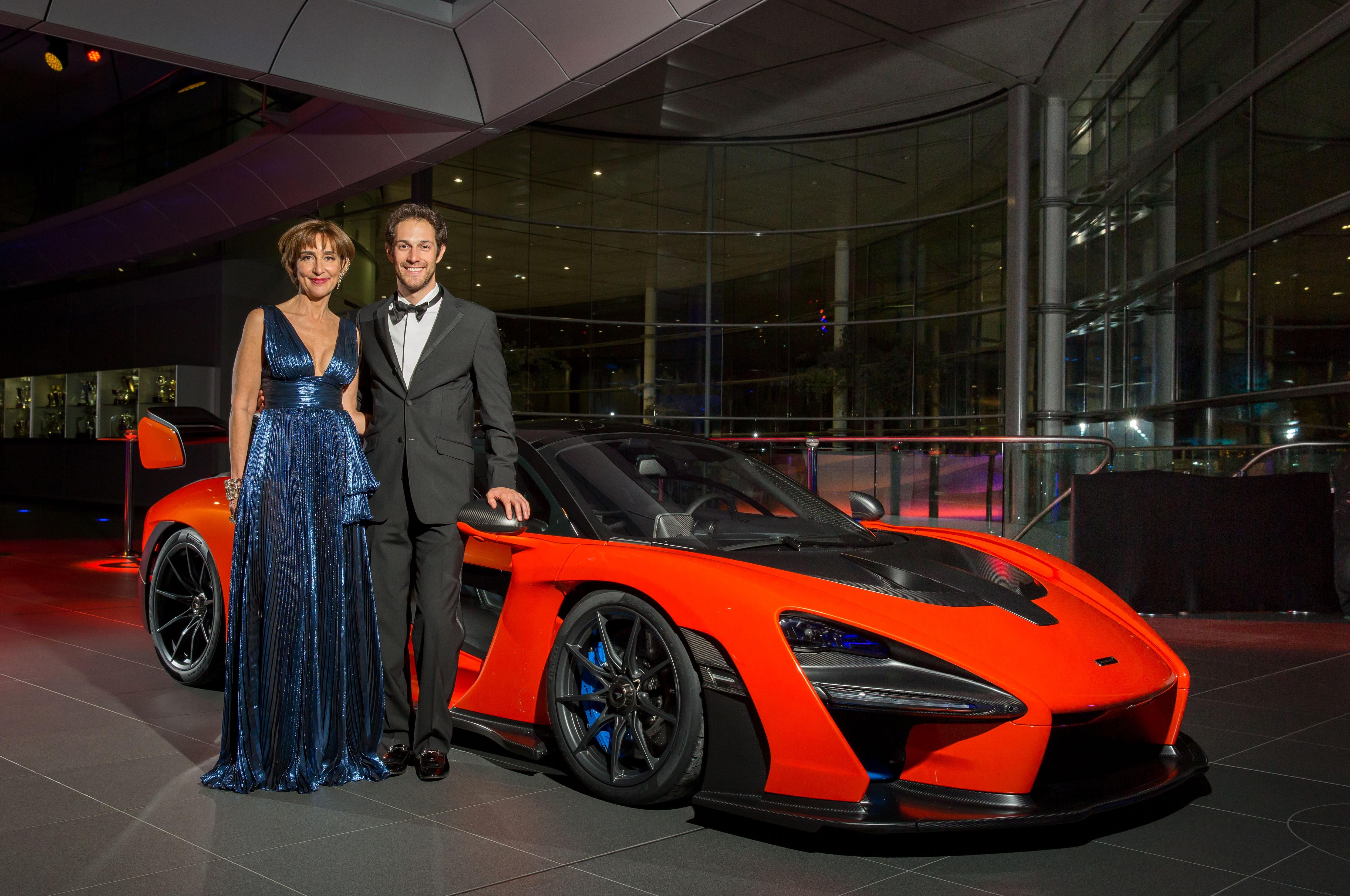 mclaren senna sells   million  charity auction automobile magazine