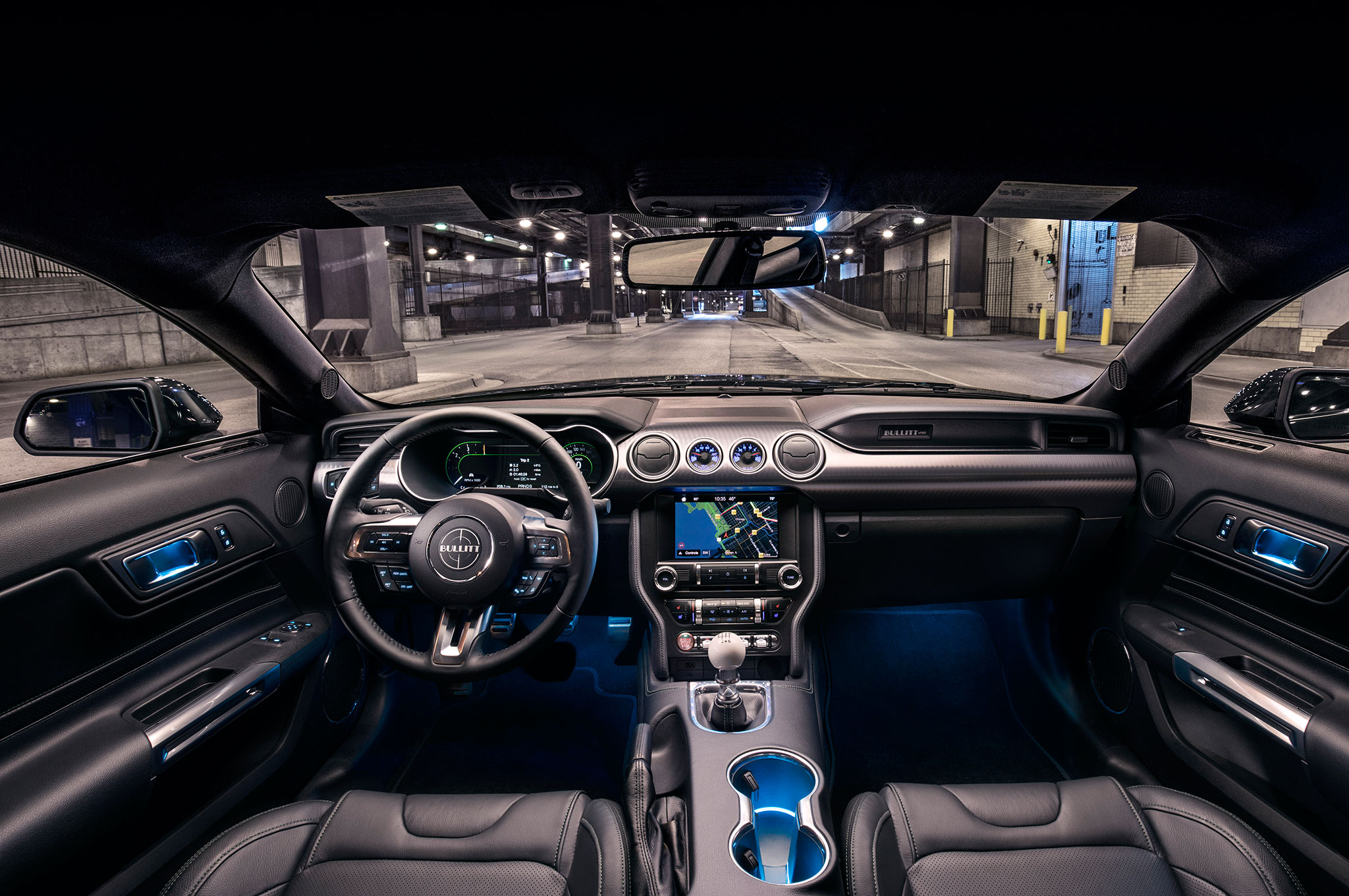 2019 ford mustang bullitt gets 47 495 price tag automobile magazine - Interior ford mustang ...