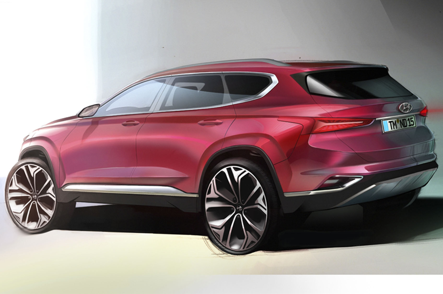 Hyundai Motor to Launch All-New Santa Fe SUV Next Month