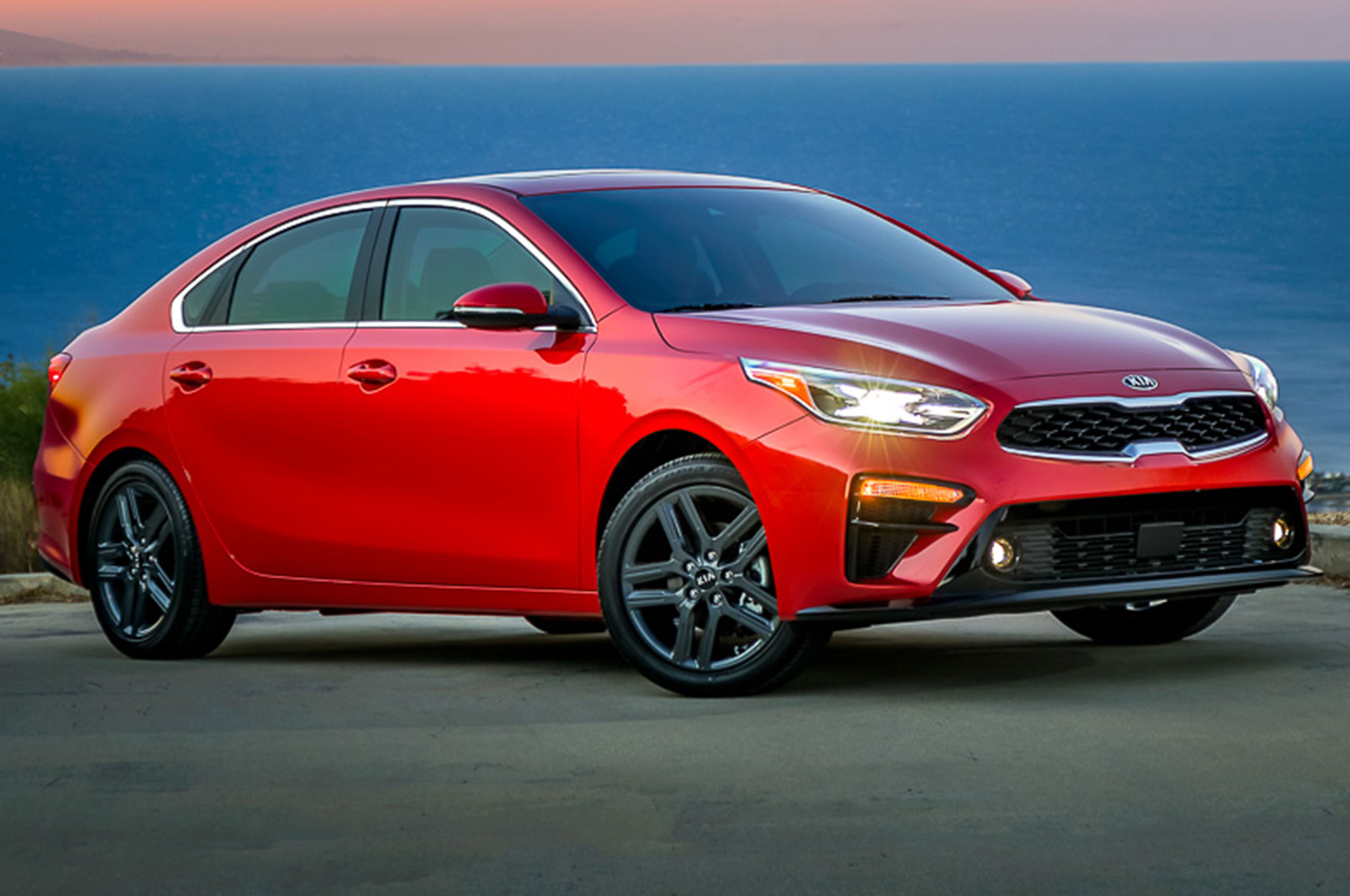2019 kia forte takes design cues from the stinger automobile magazine. Black Bedroom Furniture Sets. Home Design Ideas