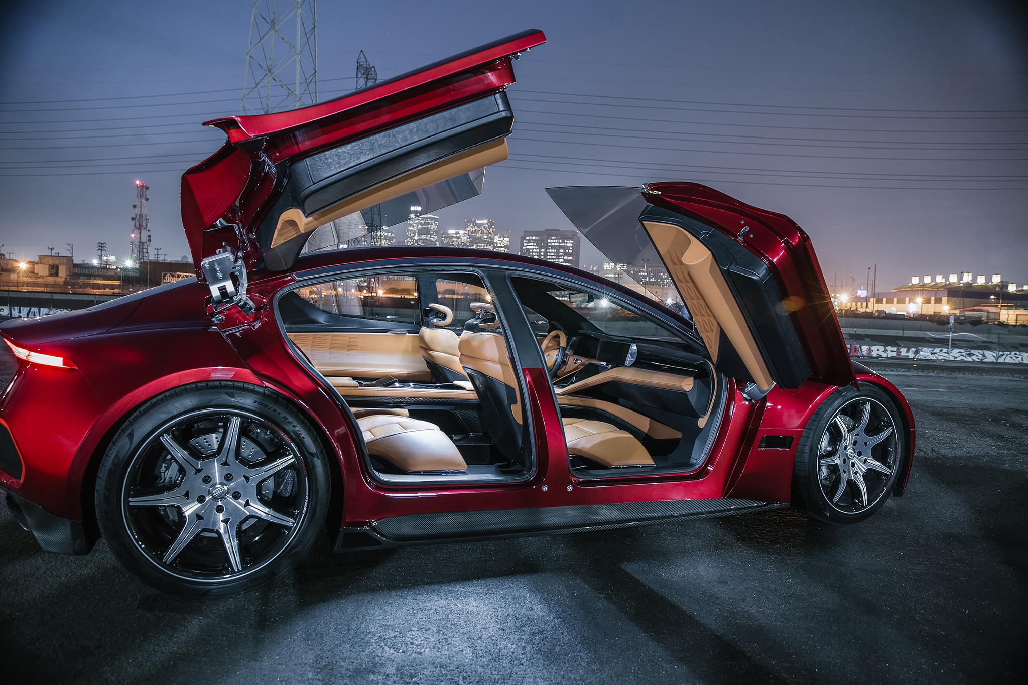 Fisker Emotion Spreads Its Suicide Butterfly Doors Automobile Magazine