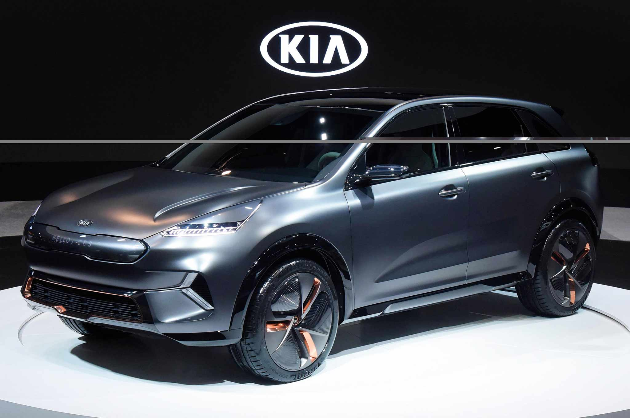 Kia Niro EV Concept makes its debut at 2018 CES
