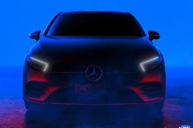 Mercedes-Benz A-Class Teased Again Before Debut in Amsterdam