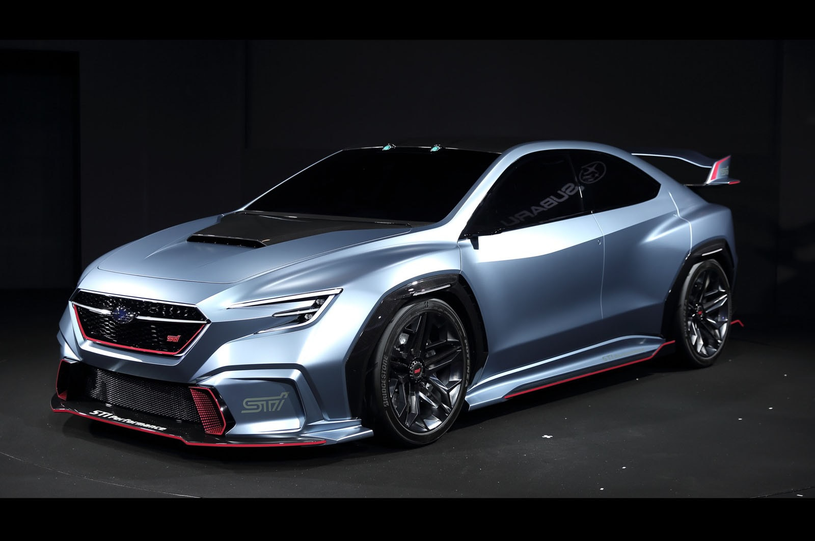 Subaru VIZIV Performance STI Concept Front Three Quarters