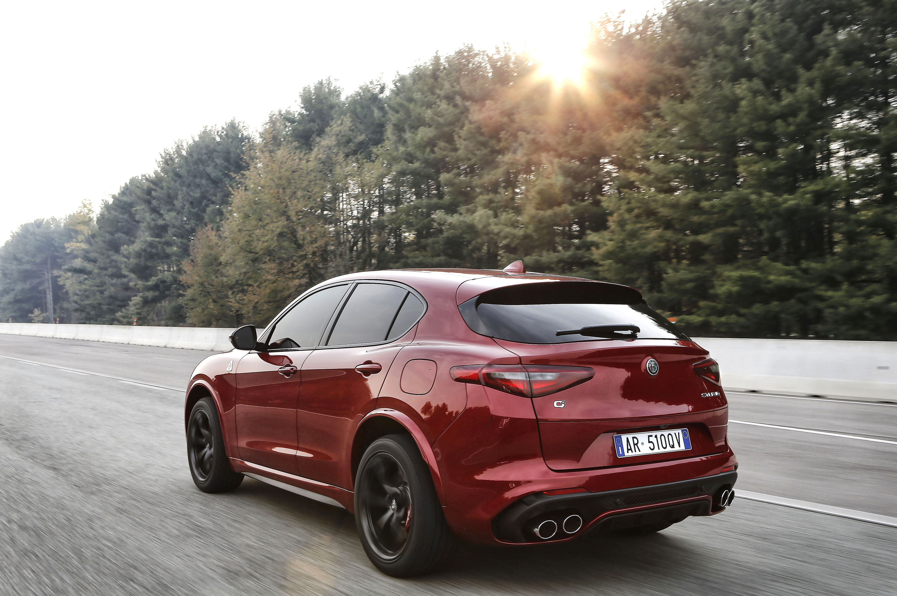 2018 alfa romeo stelvio quadrifoglio will cost you 81 590 automobile magazine. Black Bedroom Furniture Sets. Home Design Ideas