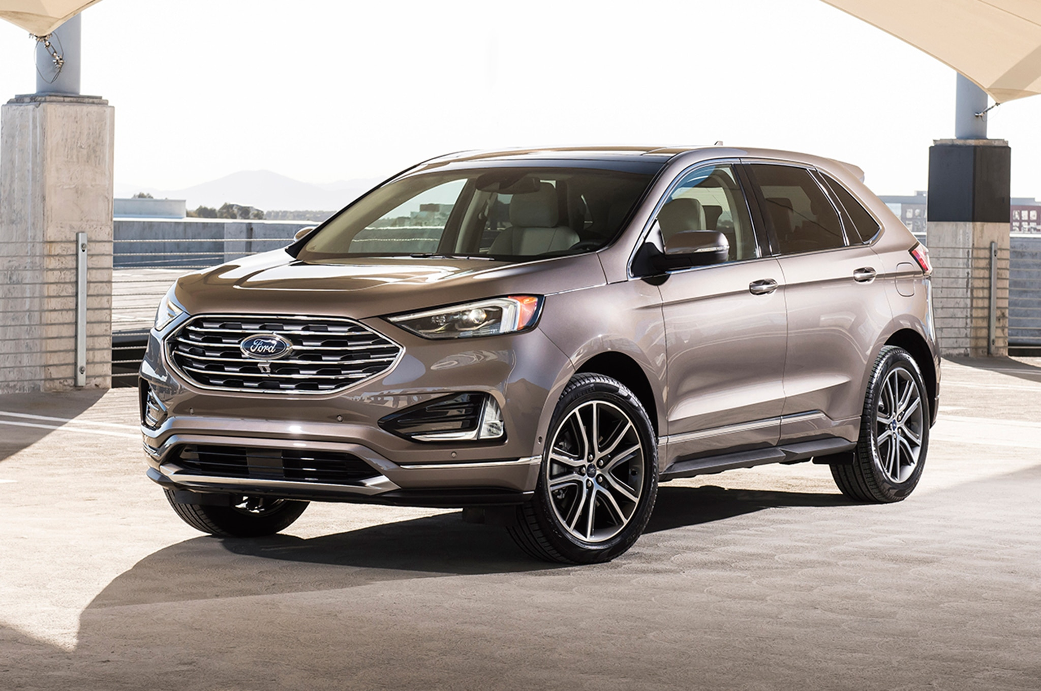 2019 ford edge titanium elite package debuts in chicago automobile magazine. Black Bedroom Furniture Sets. Home Design Ideas