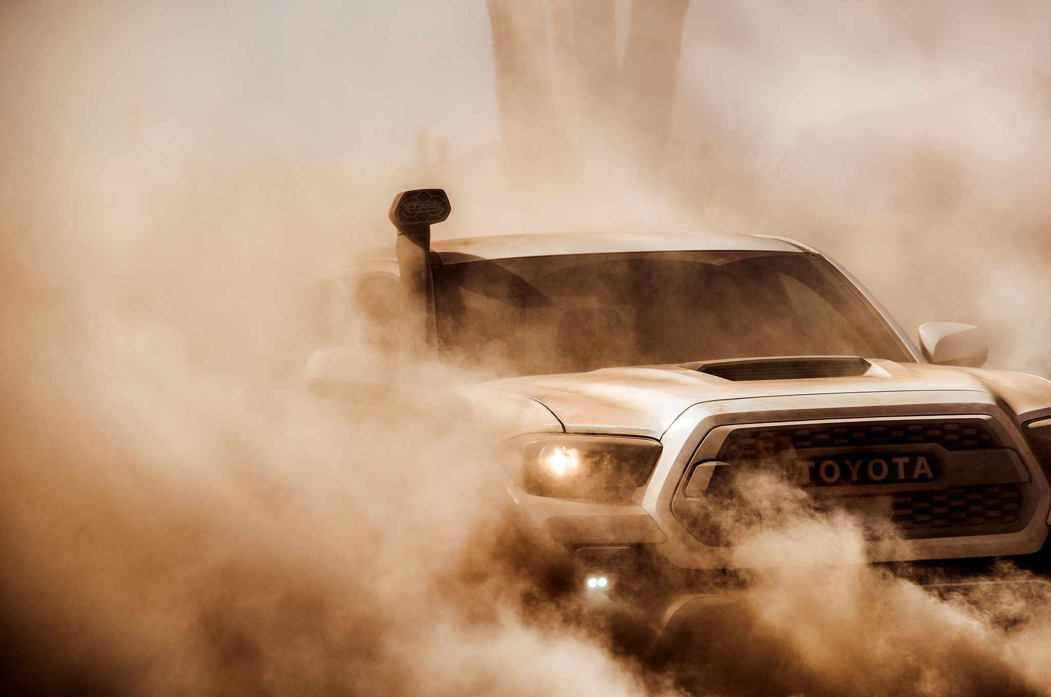 2019 Toyota Tacoma TRD Pro Teaser
