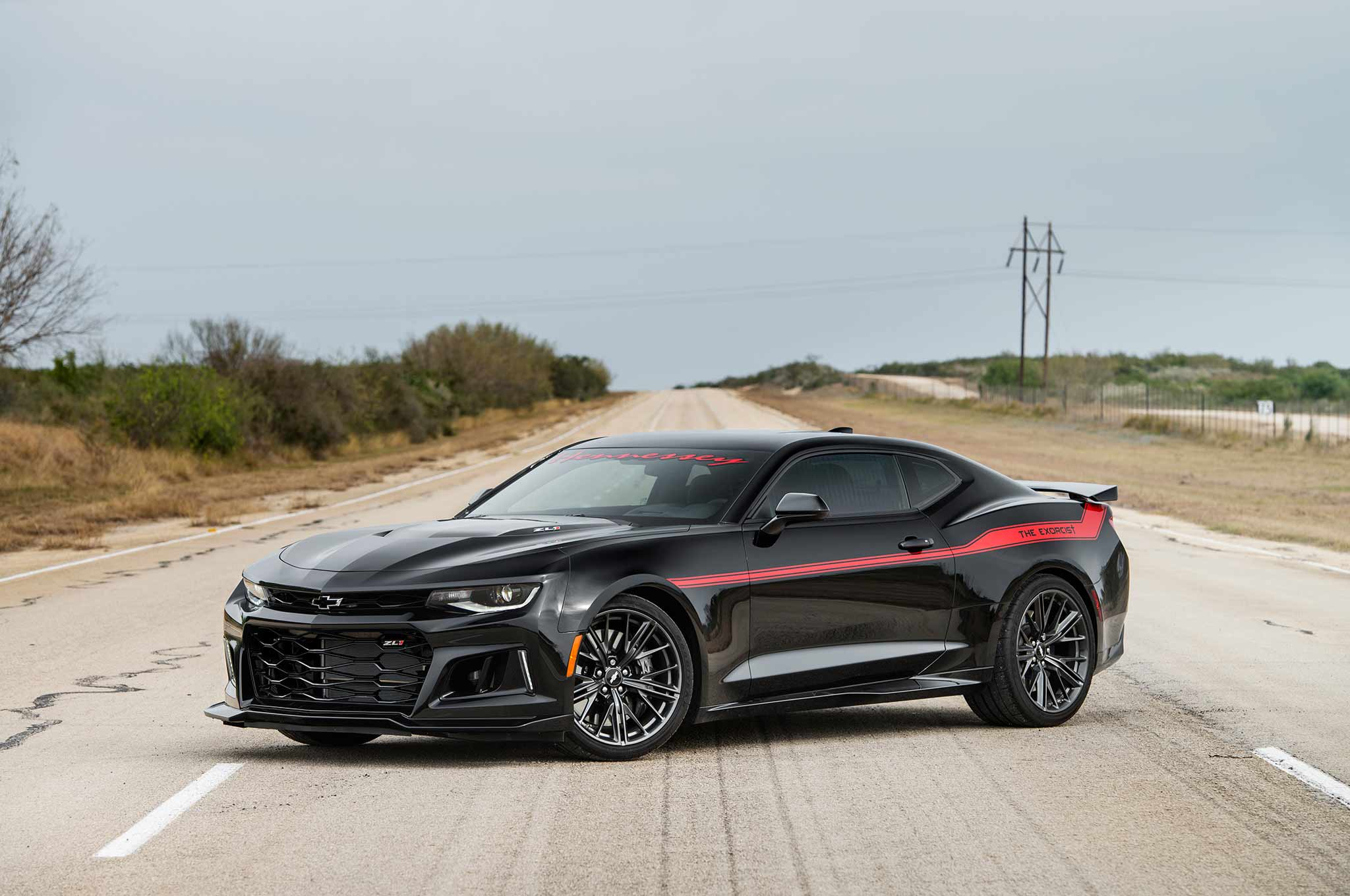 Hennessey Exorcist Camaro ZL1 Hits 217 MPH in New Video ...