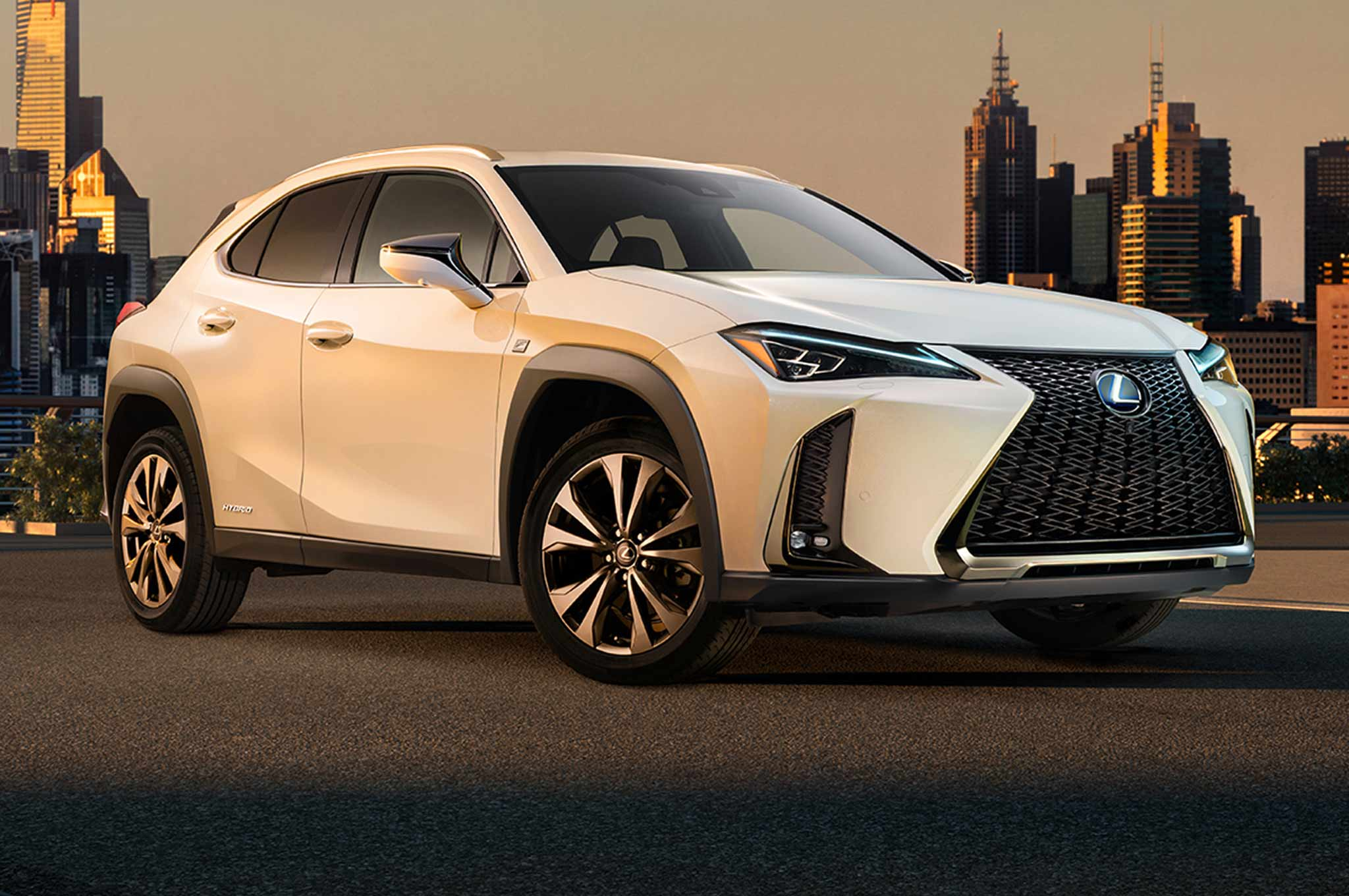 Lexus UX Crossover Production Debut In Geneva