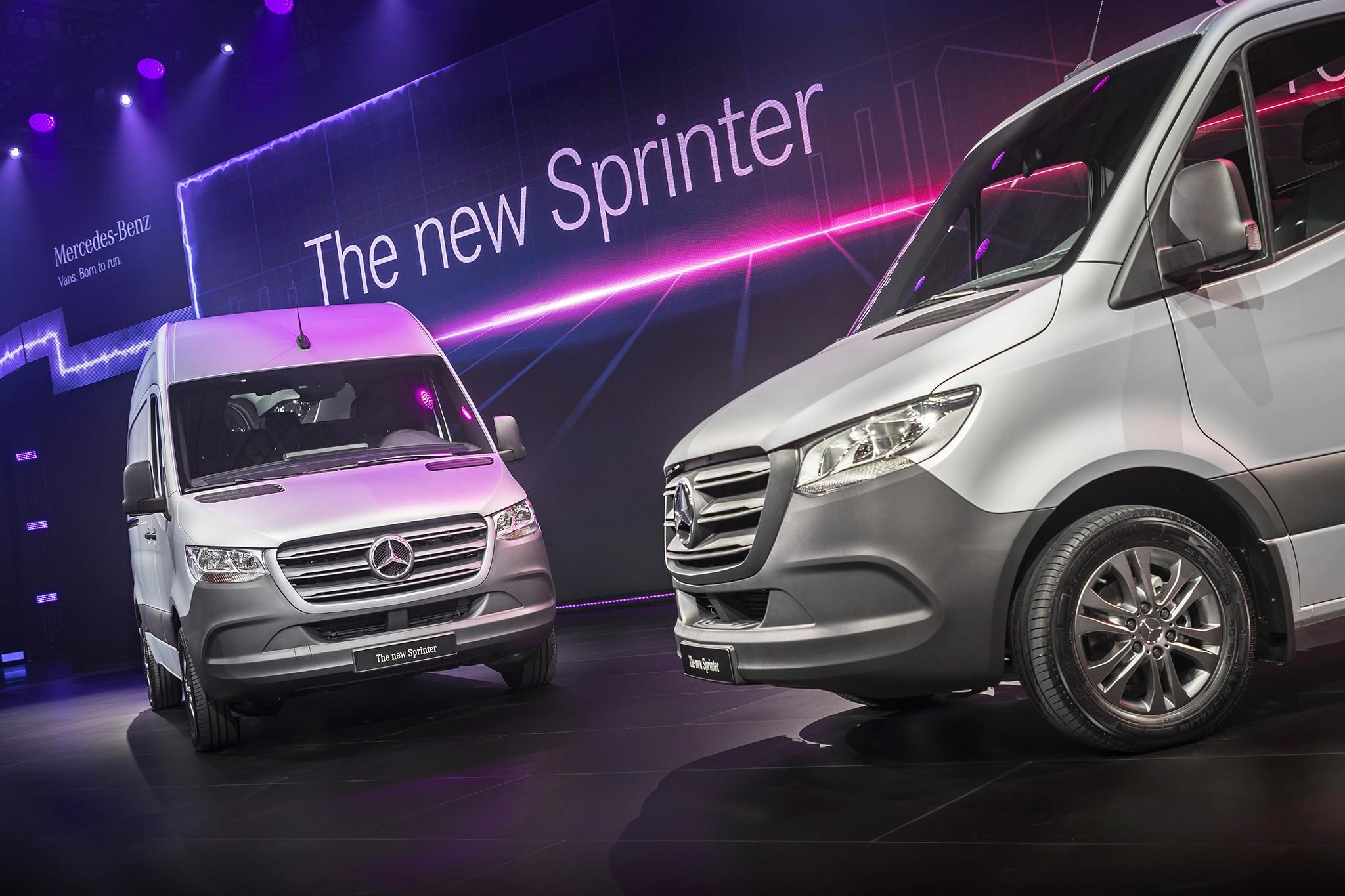 Mercedes Benz Sprinter European Spec 73