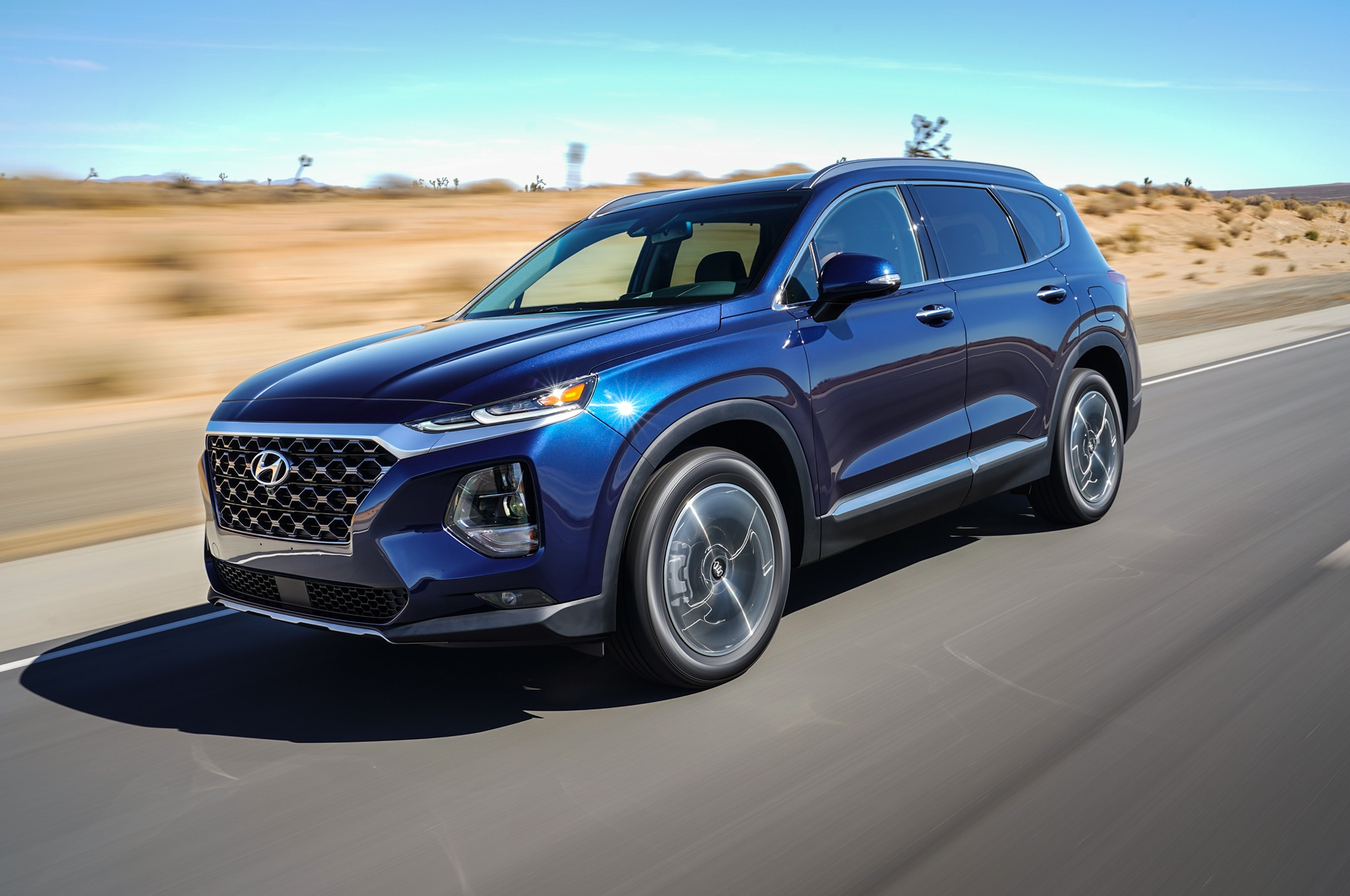 five fabulous facts about the 2019 hyundai santa fe. Black Bedroom Furniture Sets. Home Design Ideas