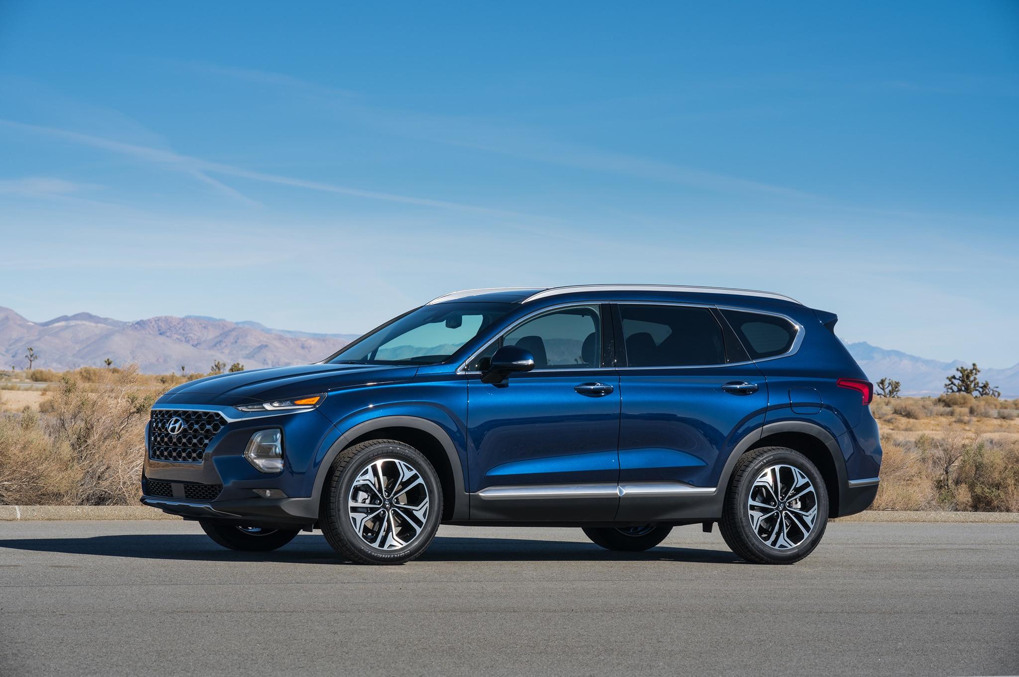 2018 - [Hyundai] Santa Fe IV - Page 3 2019-Hyundai-Santa-Fe-side-01