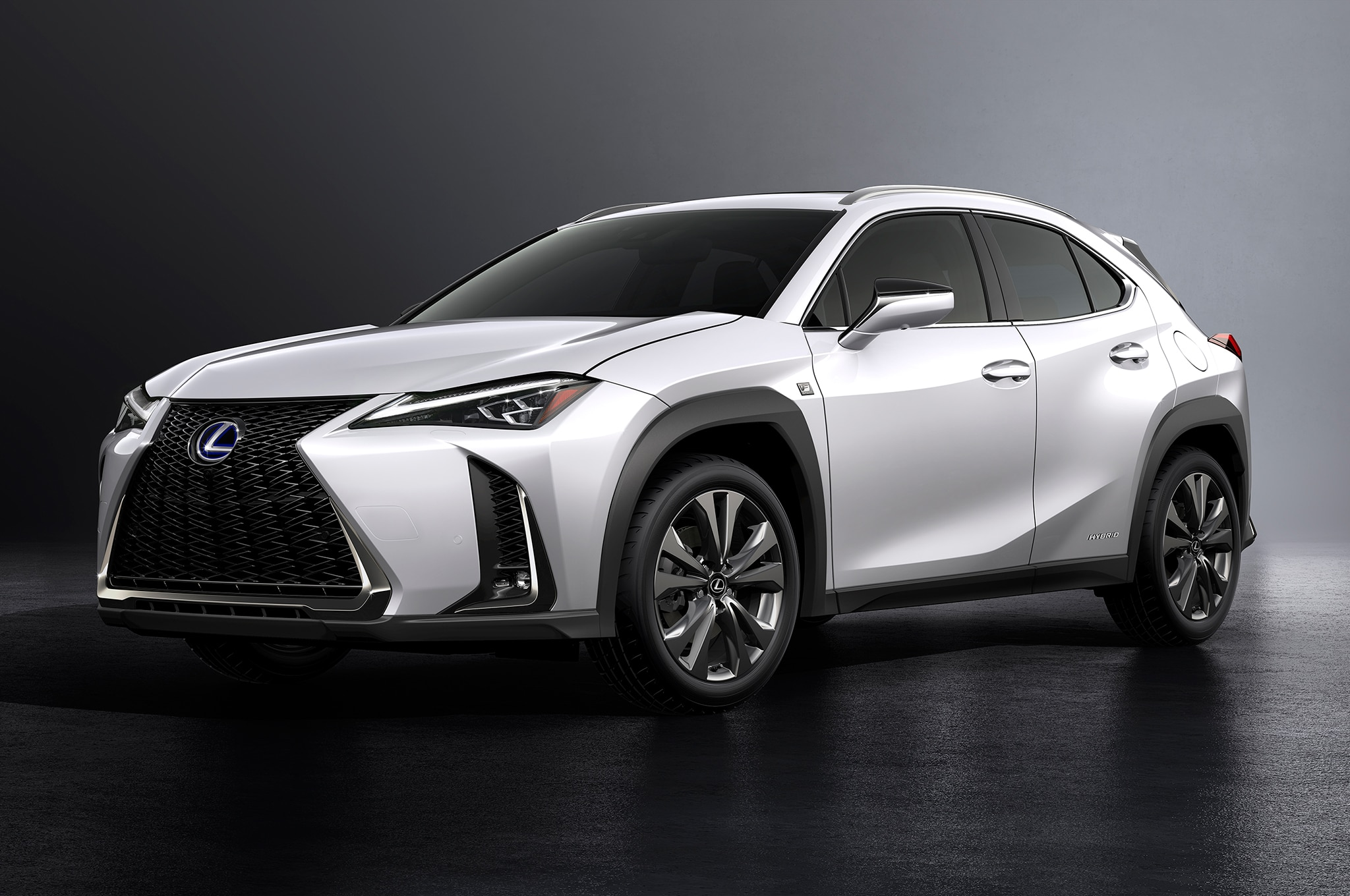 Lexus UX: the downsized luxury crossover