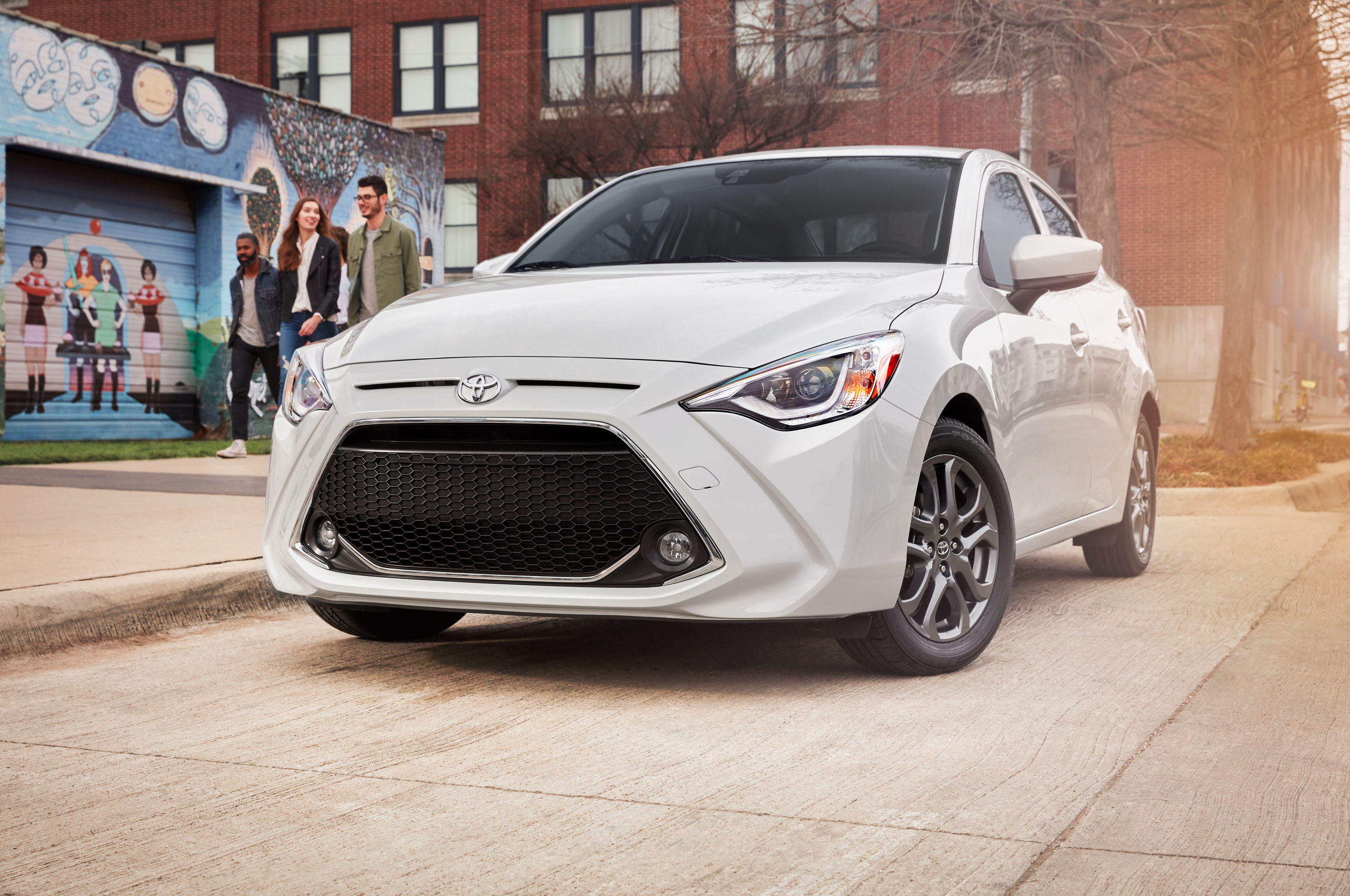 Toyota Yaris gets new name, grille, 3 trim levels