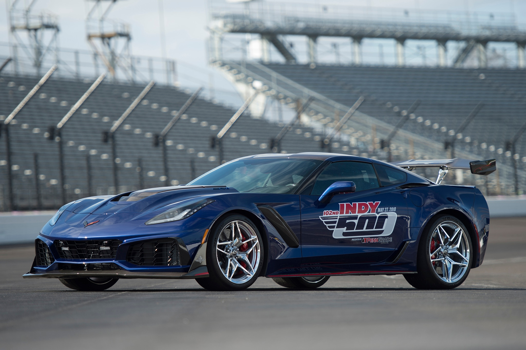 ZR1 Fastest Corvette in History Will Lead Indy 500 Race